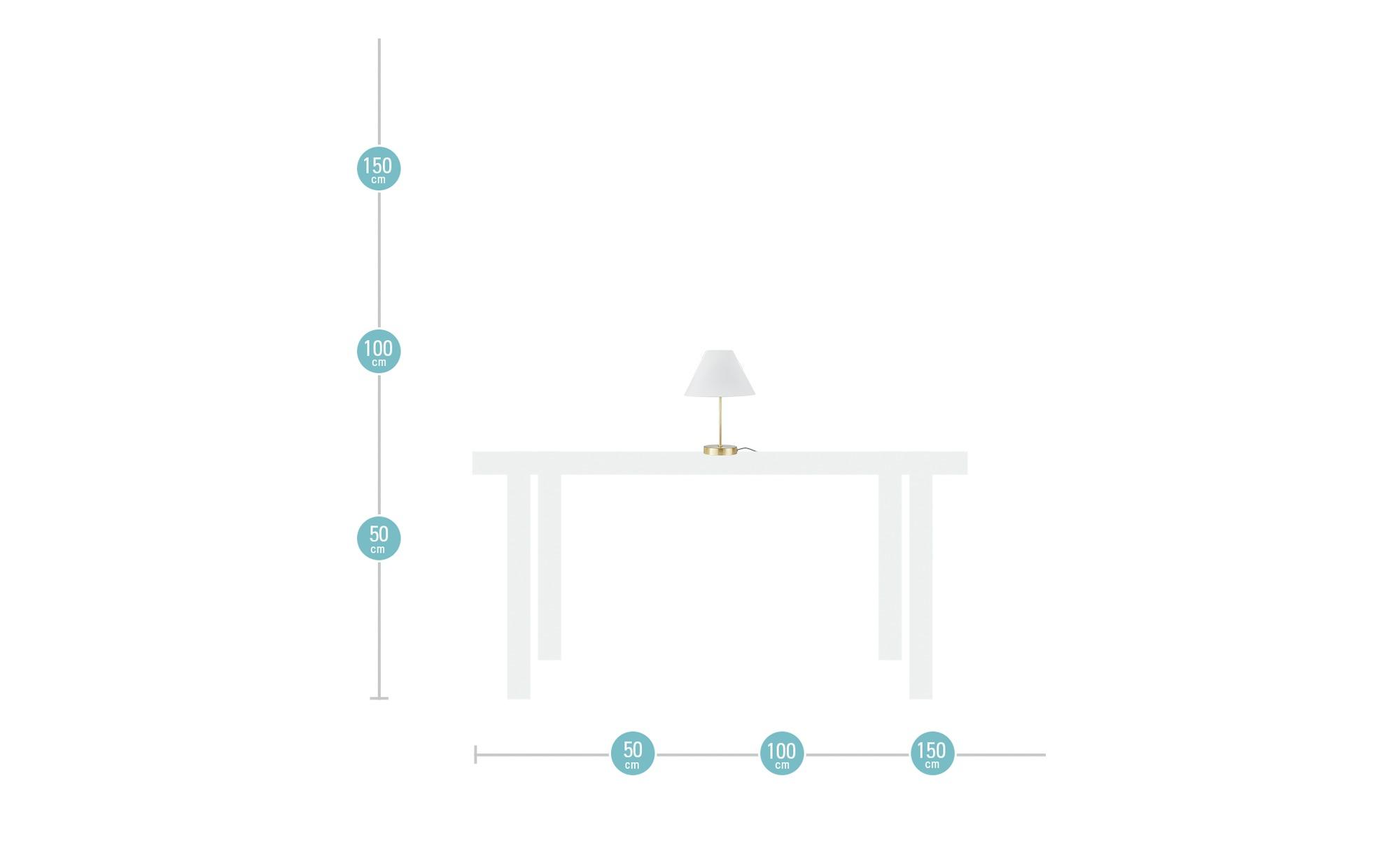 for friends Lampenschirm für Tischleuchtenfuß ¦ weiß ¦ Maße (cm): H: 15,5 Ø: [22.5] Lampen & Leuchten > Innenleuchten > Lampen Zubehör - Höffner | Lampen > Lampenschirme und Füsse | Möbel Höffner DE