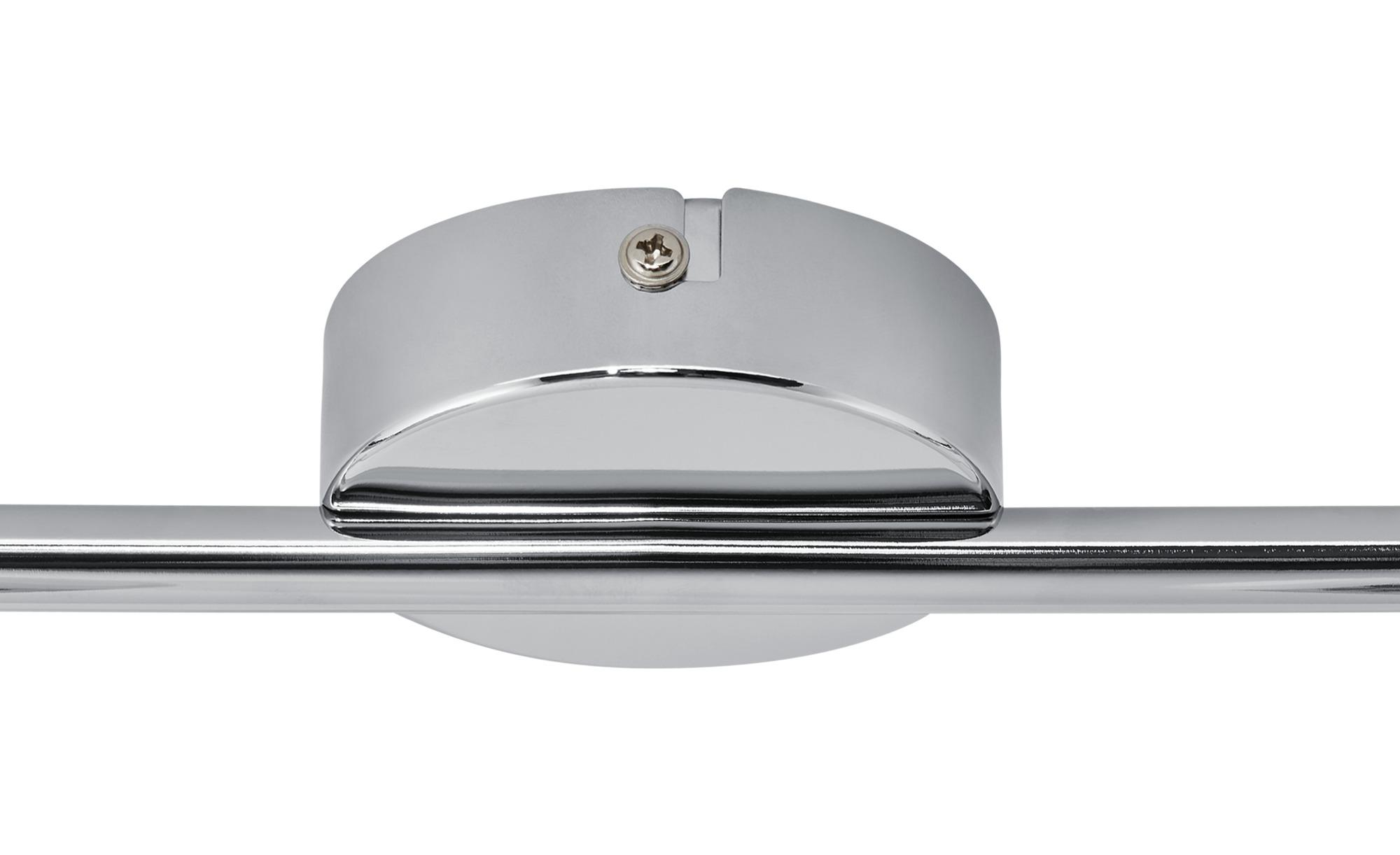 KHG LED-Deckenstrahler, 2-flammig, chrom ¦ silber ¦ Maße (cm): B: 8 H: 13 Lampen & Leuchten > LED-Leuchten > LED-Strahler & Spots - Höffner