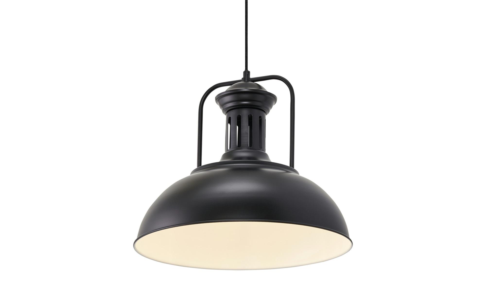 HOME STORY Pendelleuchte ¦ schwarz ¦ Maße (cm): H: 150 Ø: 41 Lampen & Leuchten > Innenleuchten > Pendelleuchten - Höffner