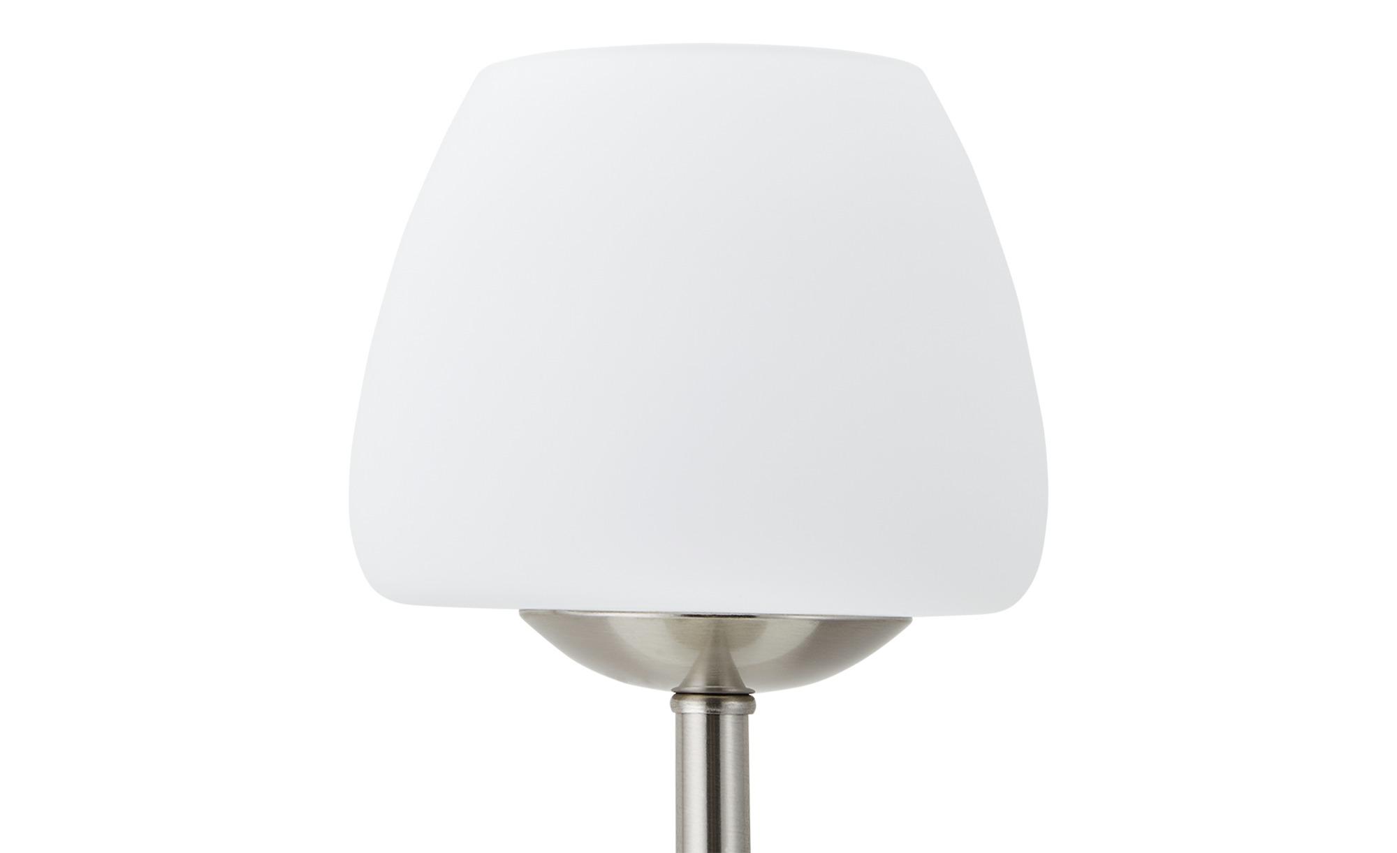 KHG LED-Tischleuchte, Nickel matt ¦ silber ¦ Maße (cm): H: 30 Ø: 14 Lampen & Leuchten > Innenleuchten > Tischlampen - Höffner