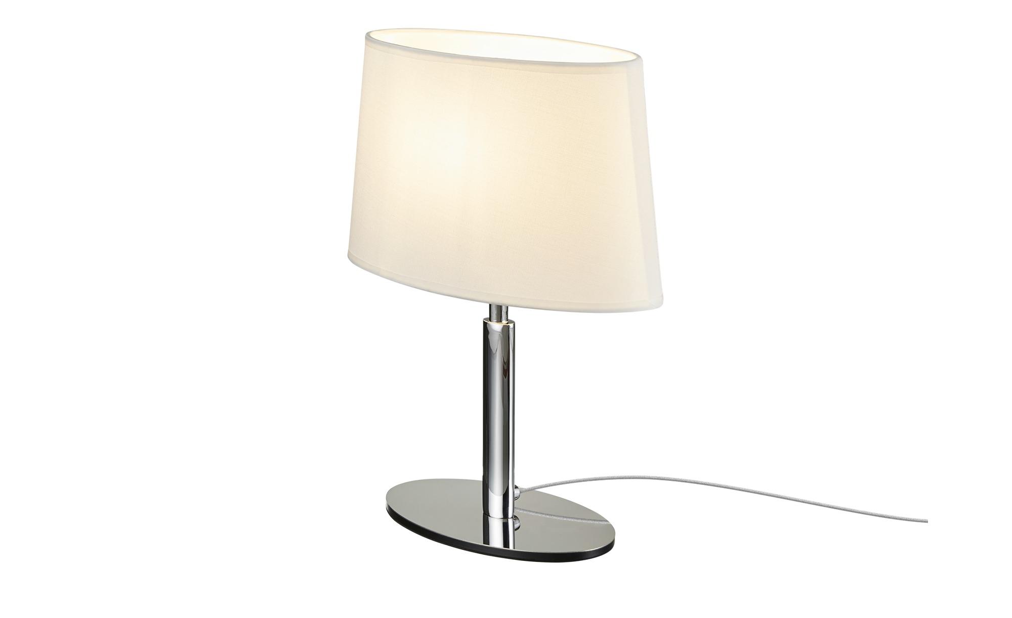 ML Tischleuchte, 1-flammig ¦ silber ¦ Maße (cm): B: 15 H: 38 Lampen & Leuchten > Innenleuchten > Tischlampen - Höffner