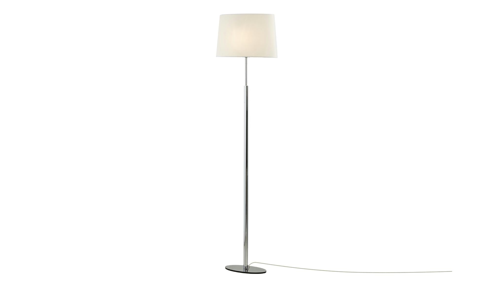 Meisterleuchten Stehleuchte, 1-flammig ¦ silber ¦ Maße (cm): B: 20 H: 150 Lampen & Leuchten > Innenleuchten > Stehlampen - Höffner