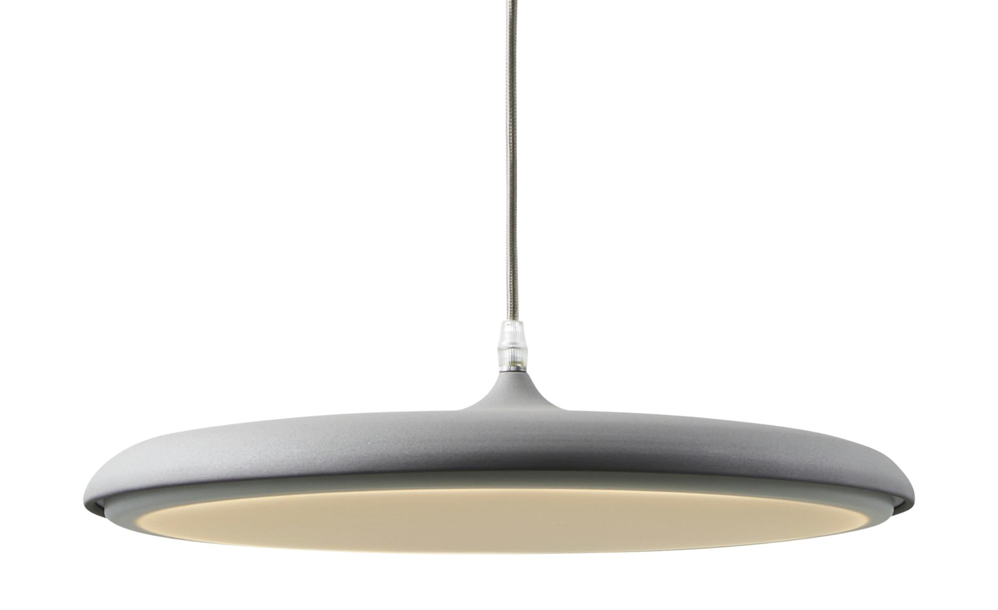 KHG LED-Pendelleuchte, 1-flammig, Grau ¦ grau ¦ Maße (cm): H: 150 Ø: [40.0] Lampen & Leuchten > LED-Leuchten > LED-Pendelleuchten - Höffner