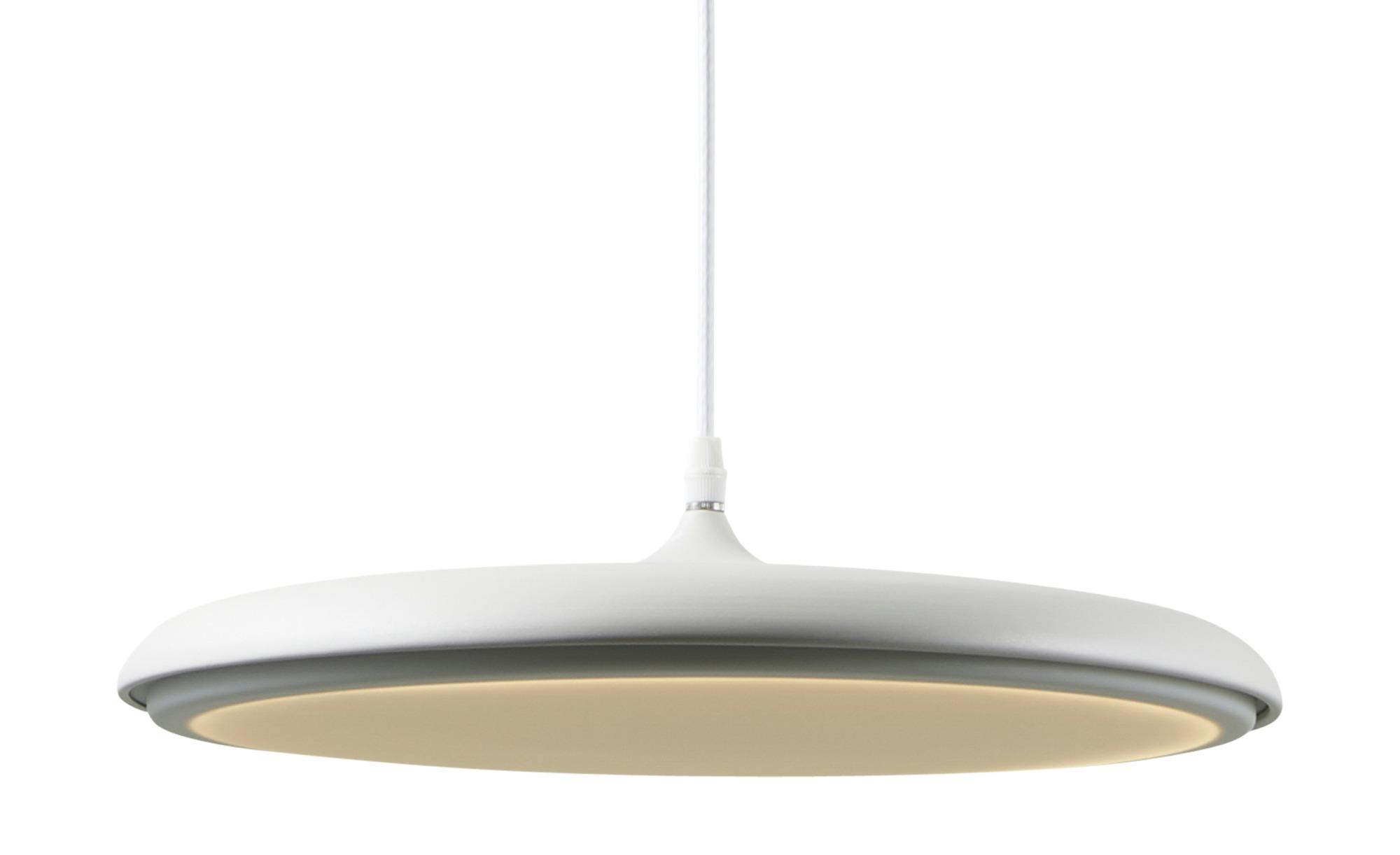 KHG LED-Pendelleuchte, 1-flammig, Weiß ¦ weiß ¦ Maße (cm): H: 150 Ø: 40 Lampen & Leuchten > LED-Leuchten > LED-Pendelleuchten - Höffner