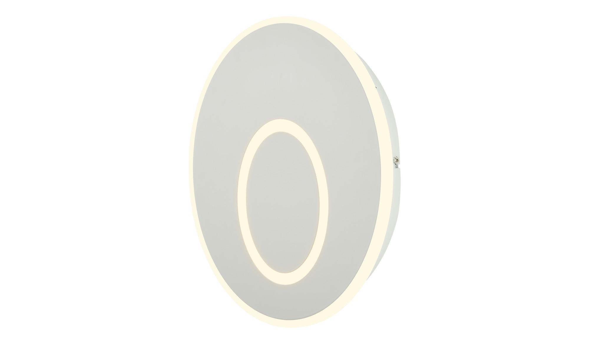 KHG LED-Wandleuchte, Weiß ¦ weiß ¦ Maße (cm): B: 32 H: 5 Lampen & Leuchten > Innenleuchten > Wandleuchten - Höffner