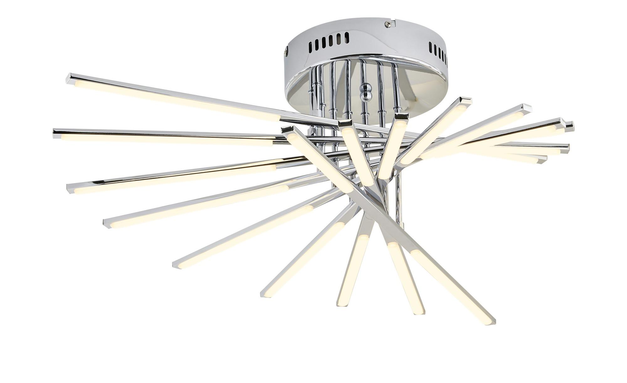 KHG LED-Deckenleuchte, Chrom ¦ Maße (cm): B: 73 H: 20 Lampen & Leuchten > Innenleuchten > Deckenleuchten - Höffner