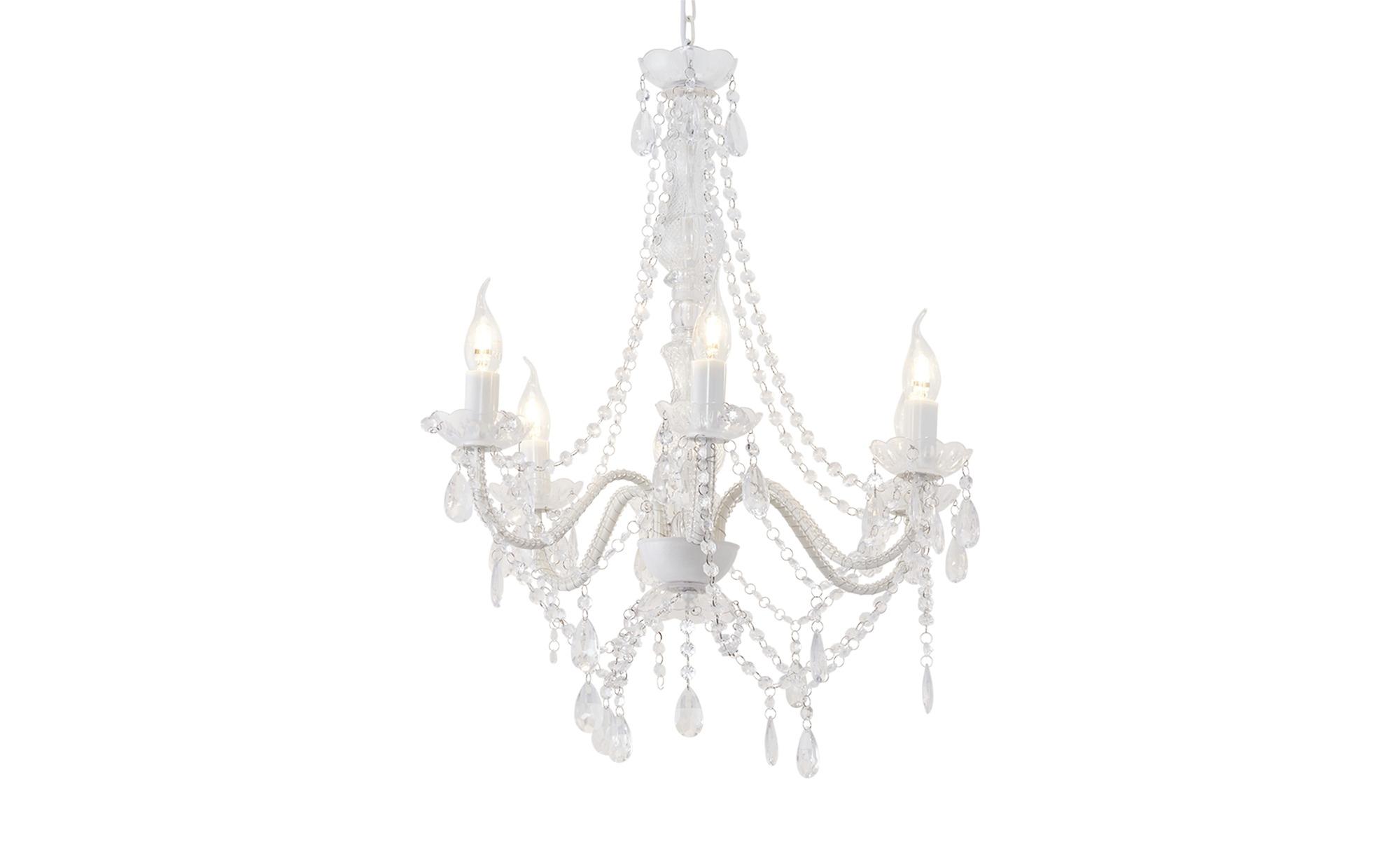 Kare Kronleuchter, 6-flammig, transparent ¦ transparent/klar ¦ Maße (cm): H: 70 Ø: [55.0] Lampen & Leuchten > Innenleuchten > Kronleuchter - Höffner