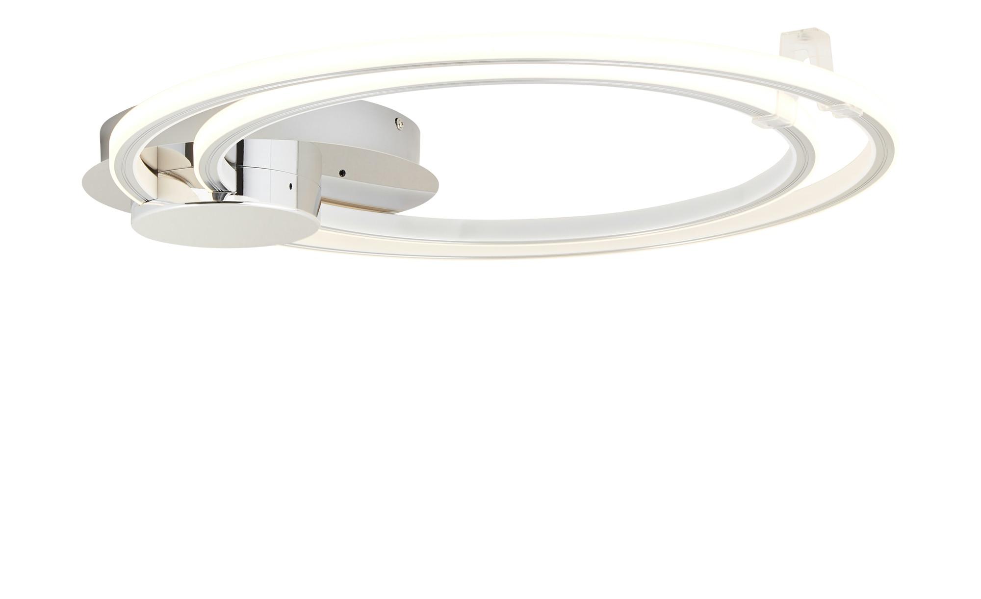 KHG LED-Deckenleuchte, Farbwechsler ¦ silber ¦ Maße (cm): B: 60 H: 7,5 Lampen & Leuchten > Innenleuchten > Deckenleuchten - Höffner