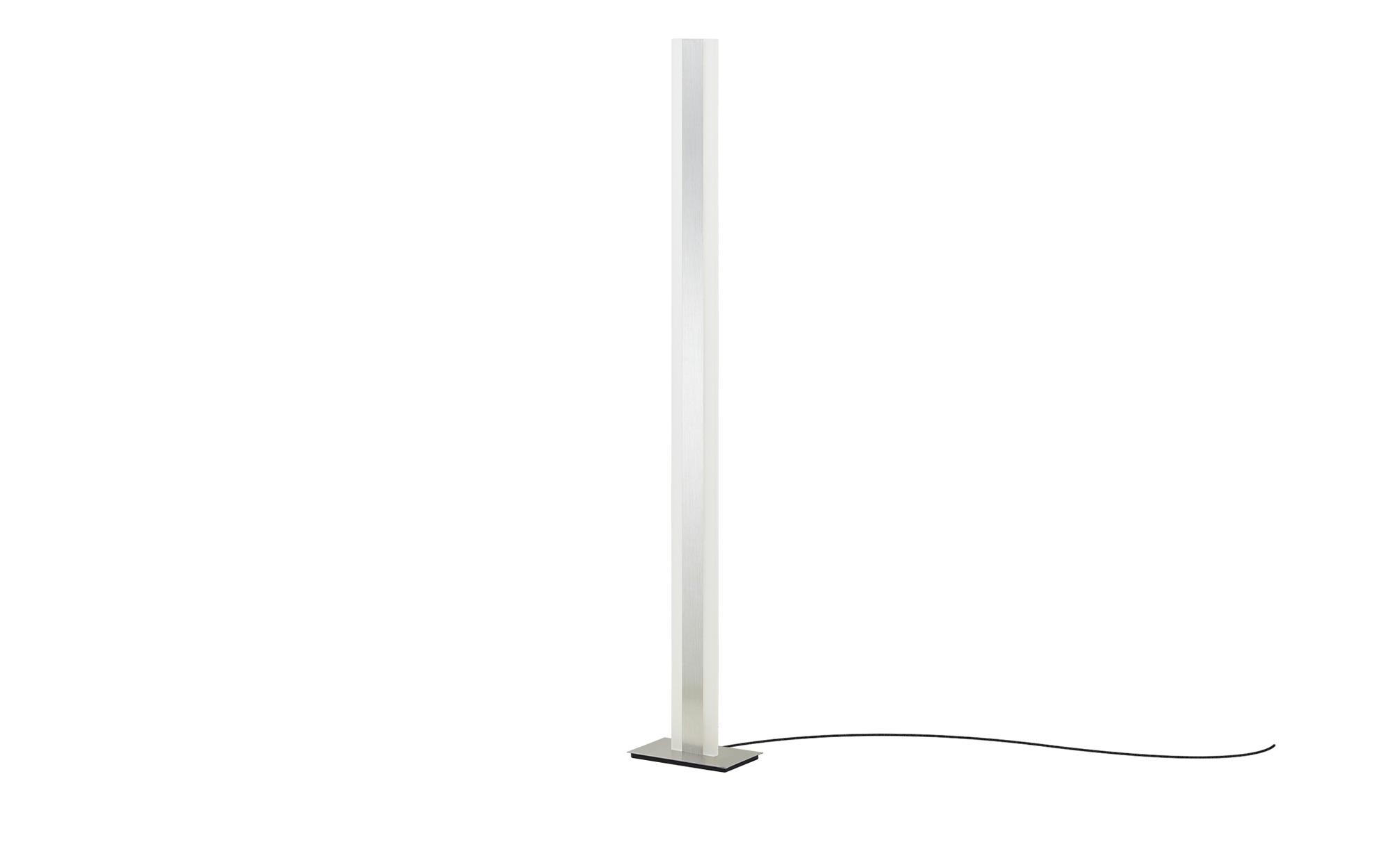 Meisterleuchten LED-Stehleuchte, mit Gestensteuerung ¦ silber ¦ Maße (cm): B: 14 H: 140 Lampen & Leuchten > Innenleuchten > Stehlampen - Höffner