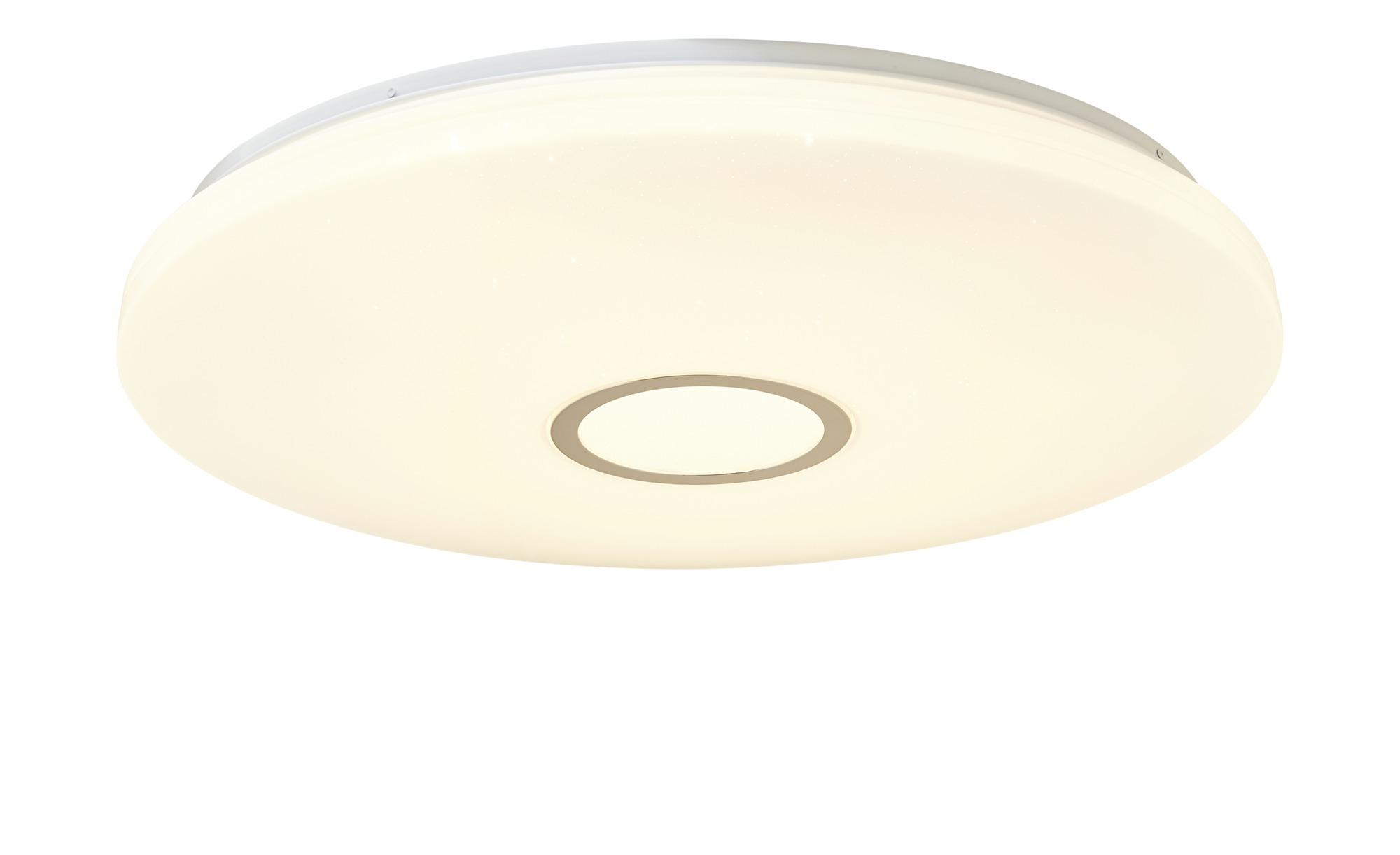 KHG LED-Deckenleuchte, mit Fernbedienung ¦ weiß ¦ Maße (cm): H: 9,5 Ø: [59.0] Lampen & Leuchten > Innenleuchten > Deckenleuchten - Höffner