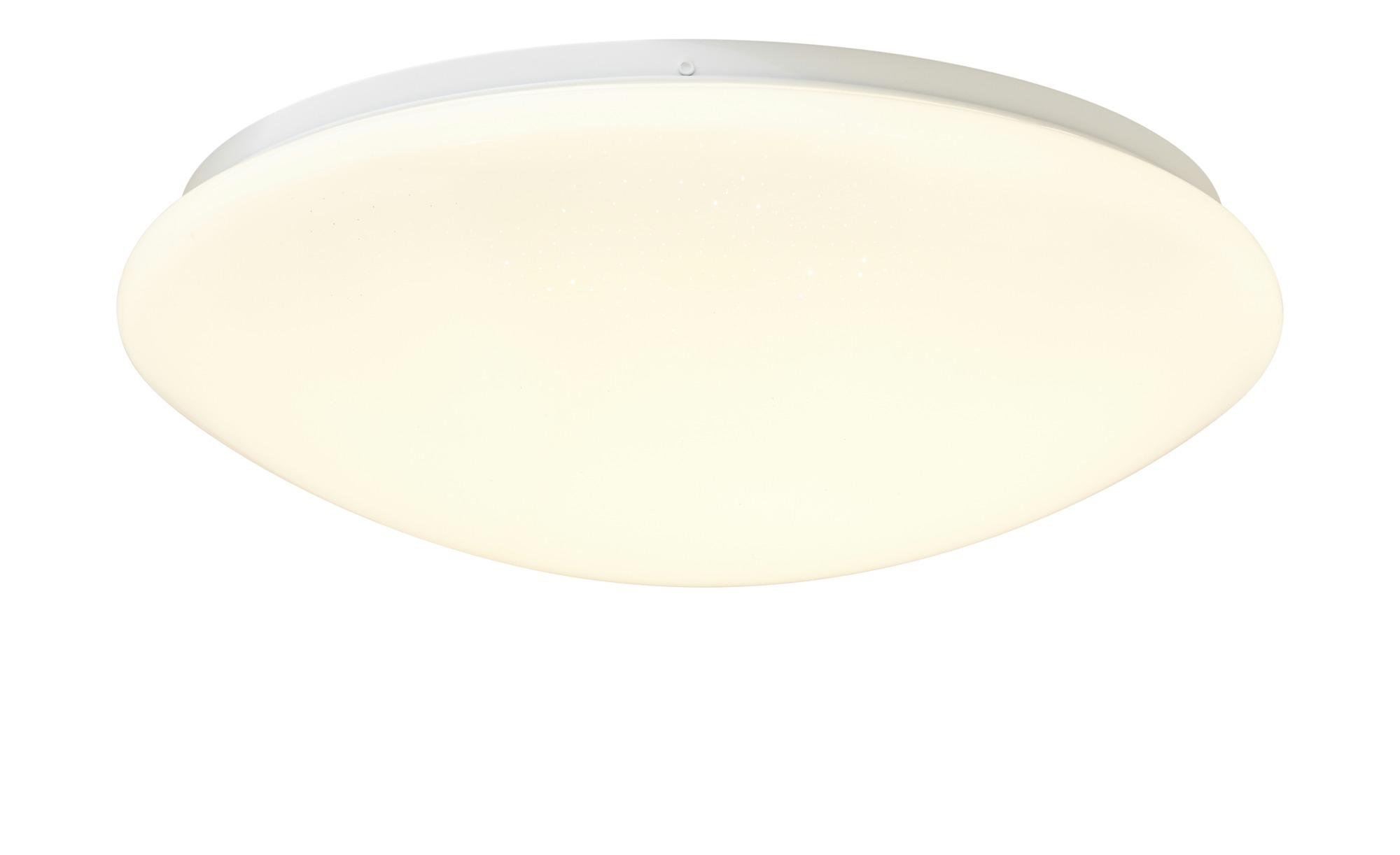 KHG LED-Deckenleuchte, Sternenhimmeleffekt ¦ weiß ¦ Maße (cm): H: 9,5 Ø: 30 Lampen & Leuchten > Innenleuchten > Deckenleuchten - Höffner
