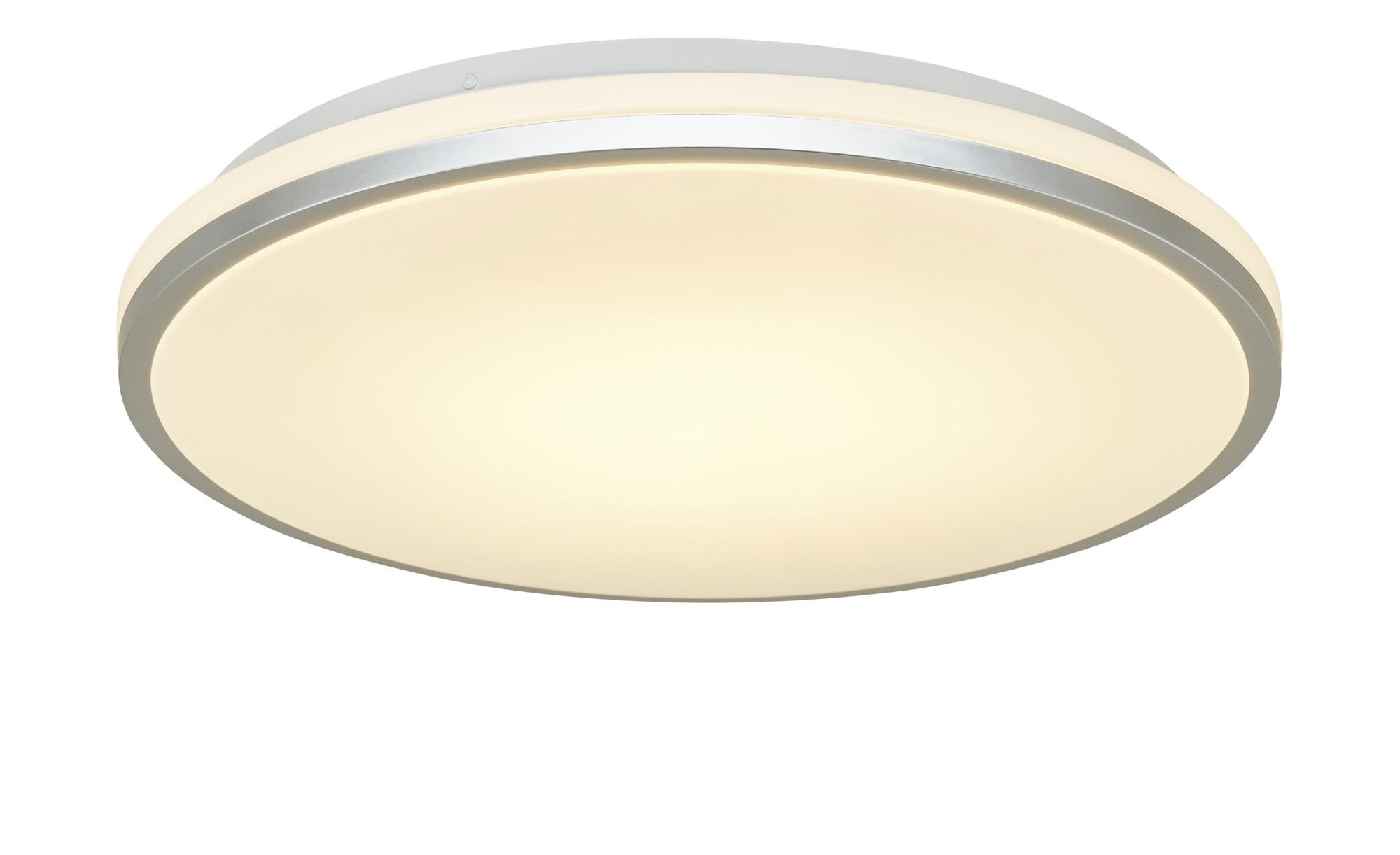 Meisterleuchten LED-Deckenleuchte, weiß ¦ weiß ¦ Maße (cm): H: 7 Ø: 39 Lampen & Leuchten > Innenleuchten > Deckenleuchten - Höffner