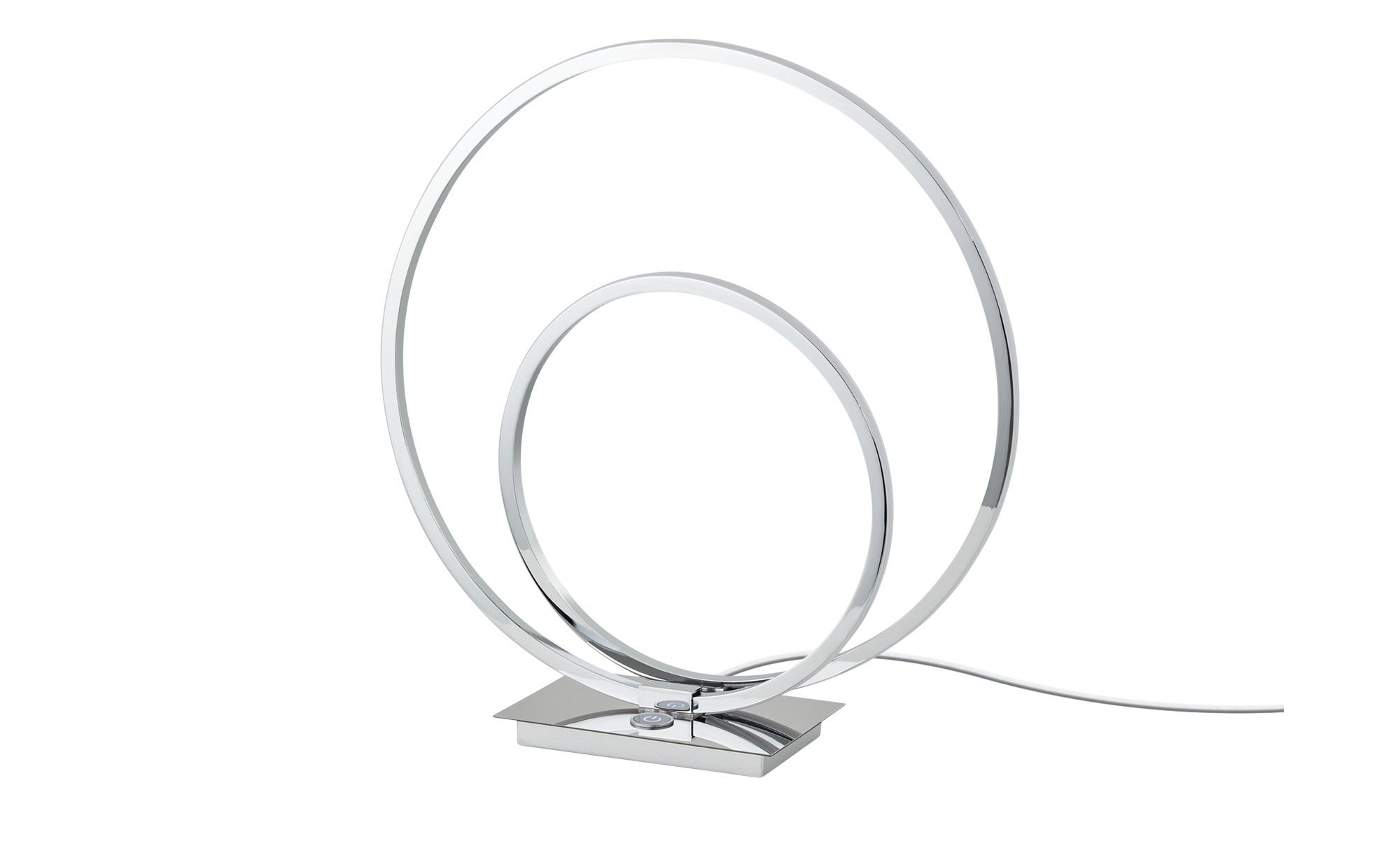 Meisterleuchten LED-Tischleuchte, 1-flammig, Chrom ¦ silber ¦ Maße (cm): B: 10 H: 36,5 Lampen & Leuchten > Innenleuchten > Tischlampen - Höffner