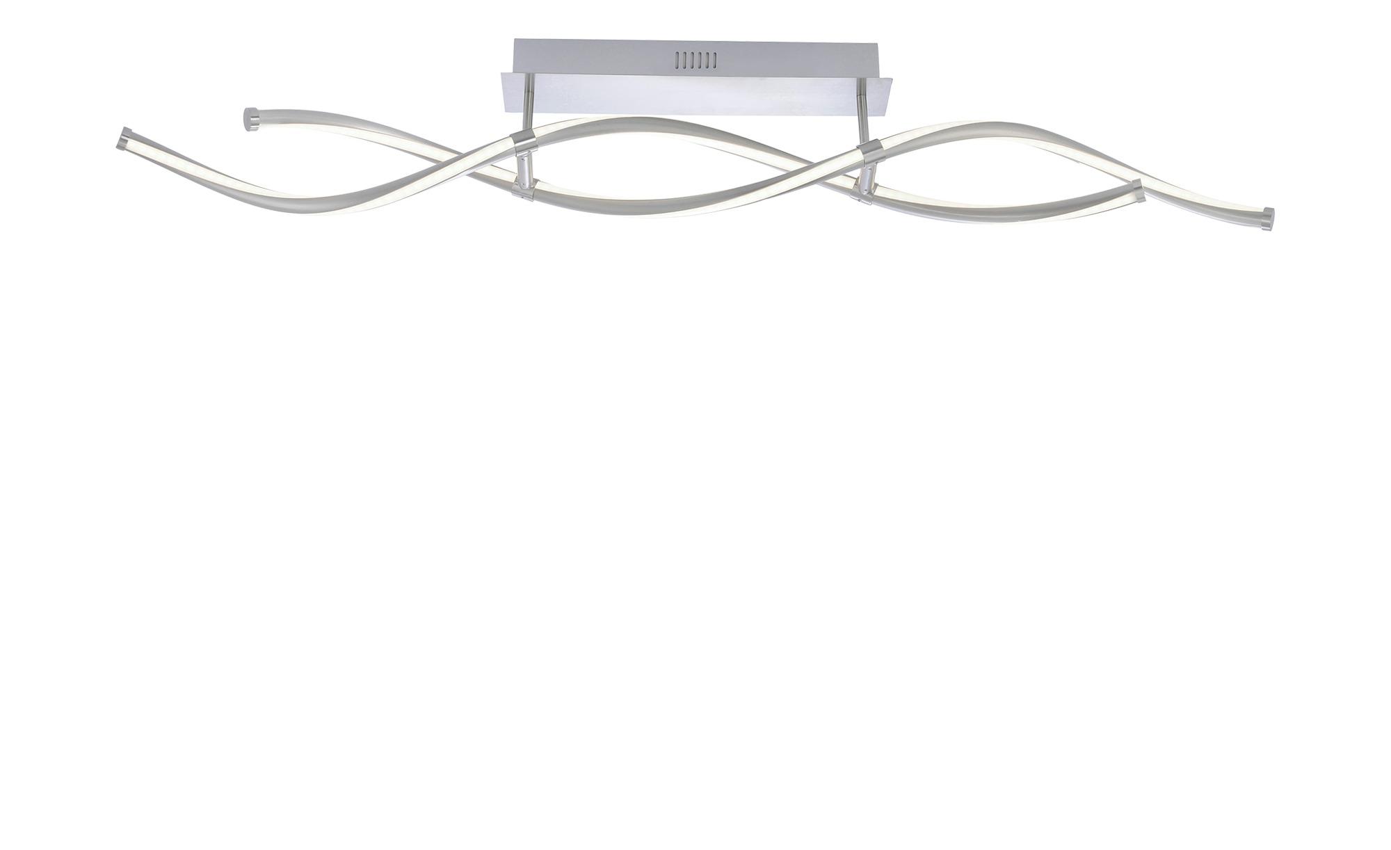Q-Smart Home Lights Deckenleuchte,2-flammig, nickel-matt ¦ silber ¦ Maße (cm): B: 10,5 H: 16,8 Lampen & Leuchten > Innenleuchten > Deckenleuchten - Höffner