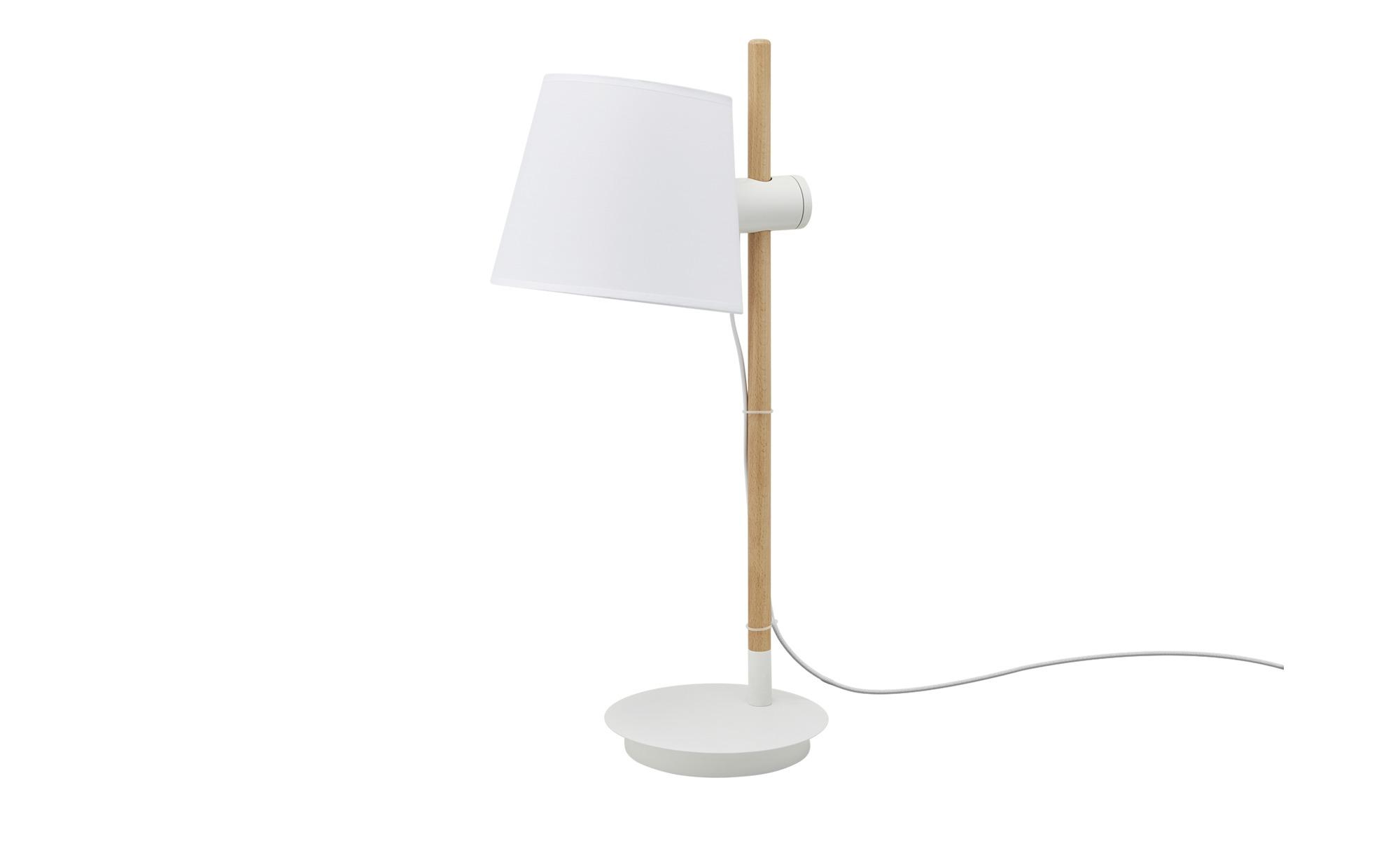 Paul Neuhaus Tischleuchte, 1-flammig ¦ weiß ¦ Maße (cm): B: 37 H: 68 Lampen & Leuchten > Innenleuchten > Tischlampen - Höffner