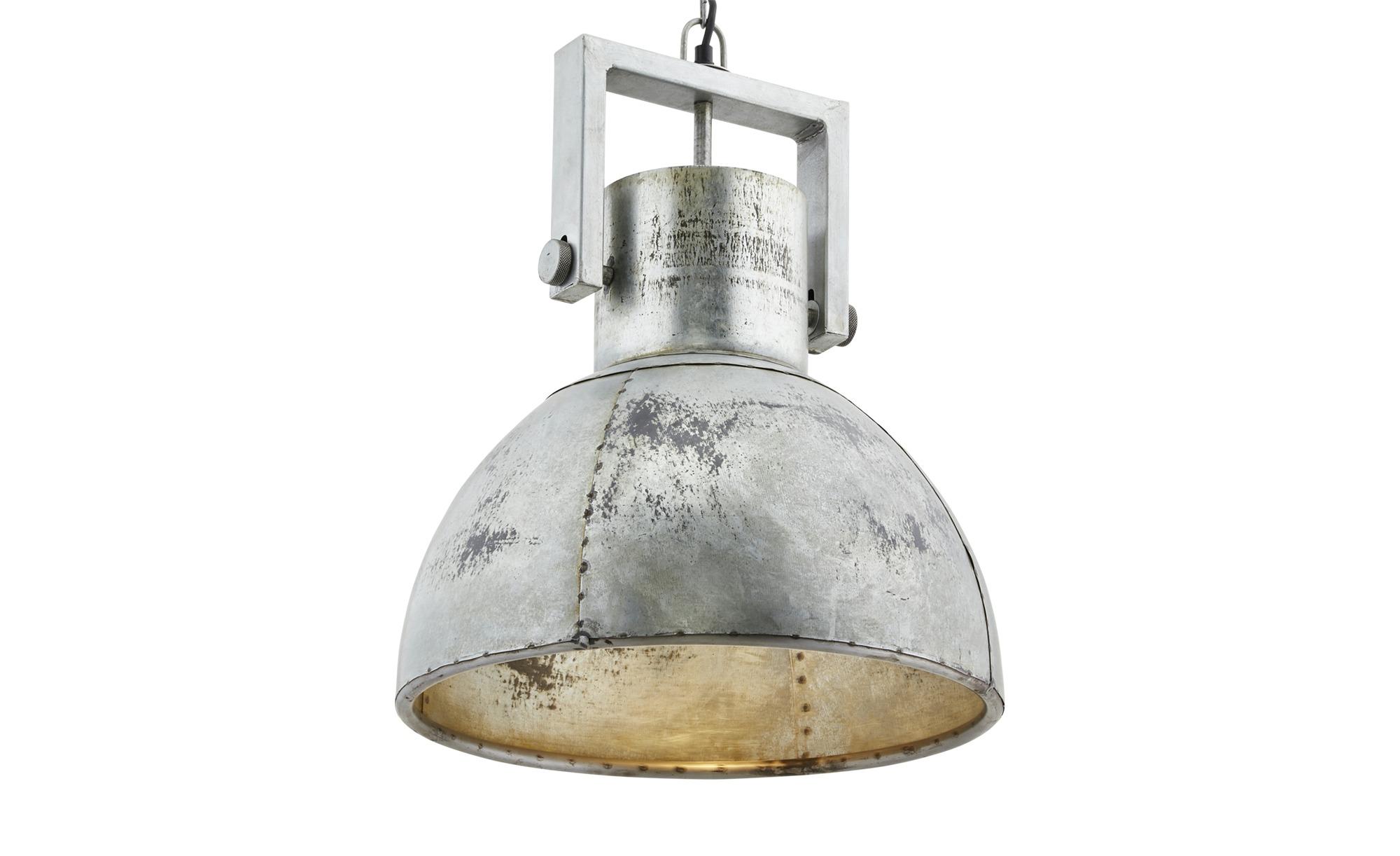 Paul Neuhaus Pendelleuchte, 1-flammig, Industrie-Stil ¦ grau ¦ Maße (cm): H: 120 Ø: 40 Lampen & Leuchten > Innenleuchten > Pendelleuchten - Höffner
