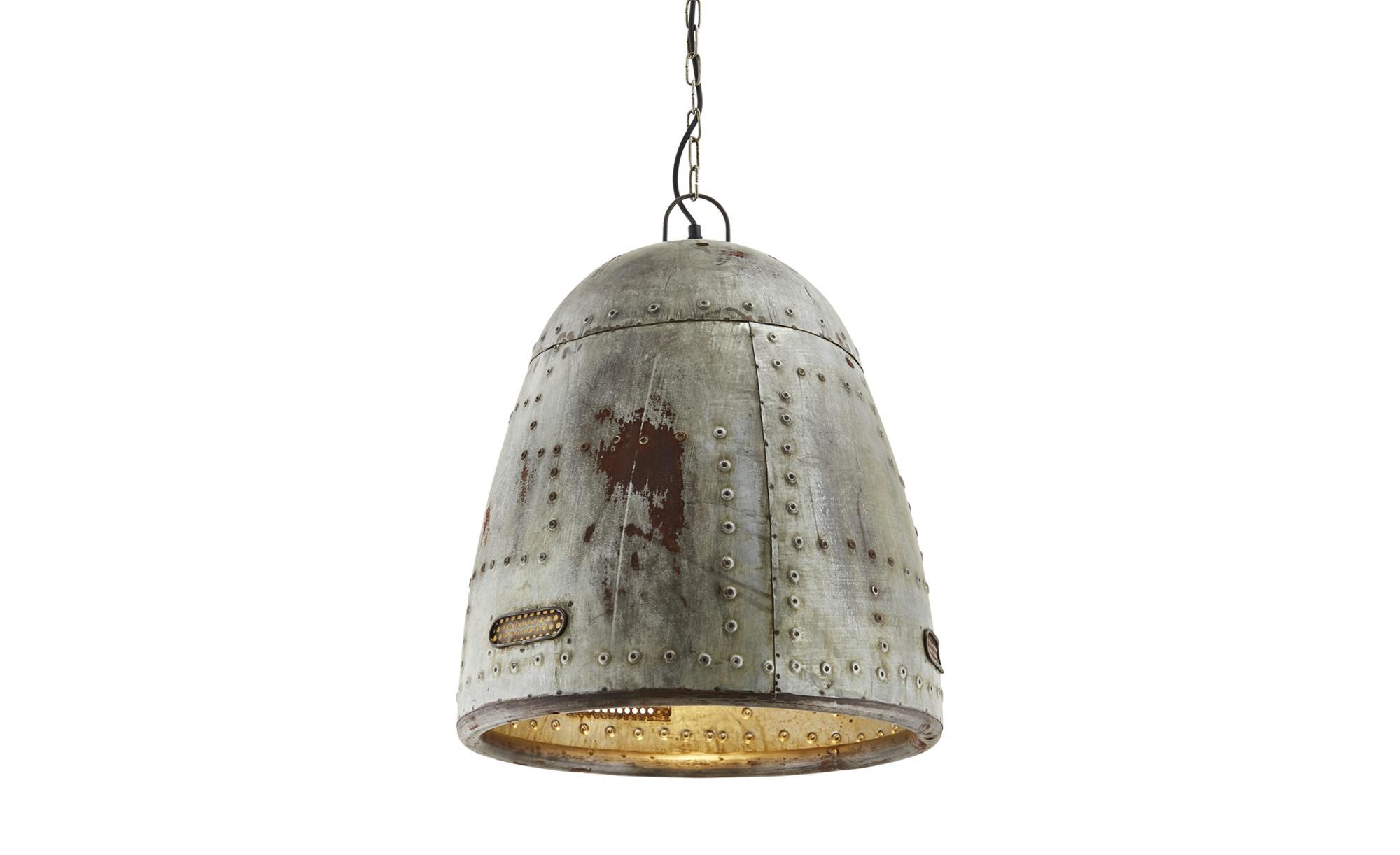 Paul Neuhaus Pendelleuchte, 1-flammig, Industrie-Stil ¦ grau ¦ Maße (cm): H: 120 Ø: [45.0] Lampen & Leuchten > Innenleuchten > Pendelleuchten - Höffner