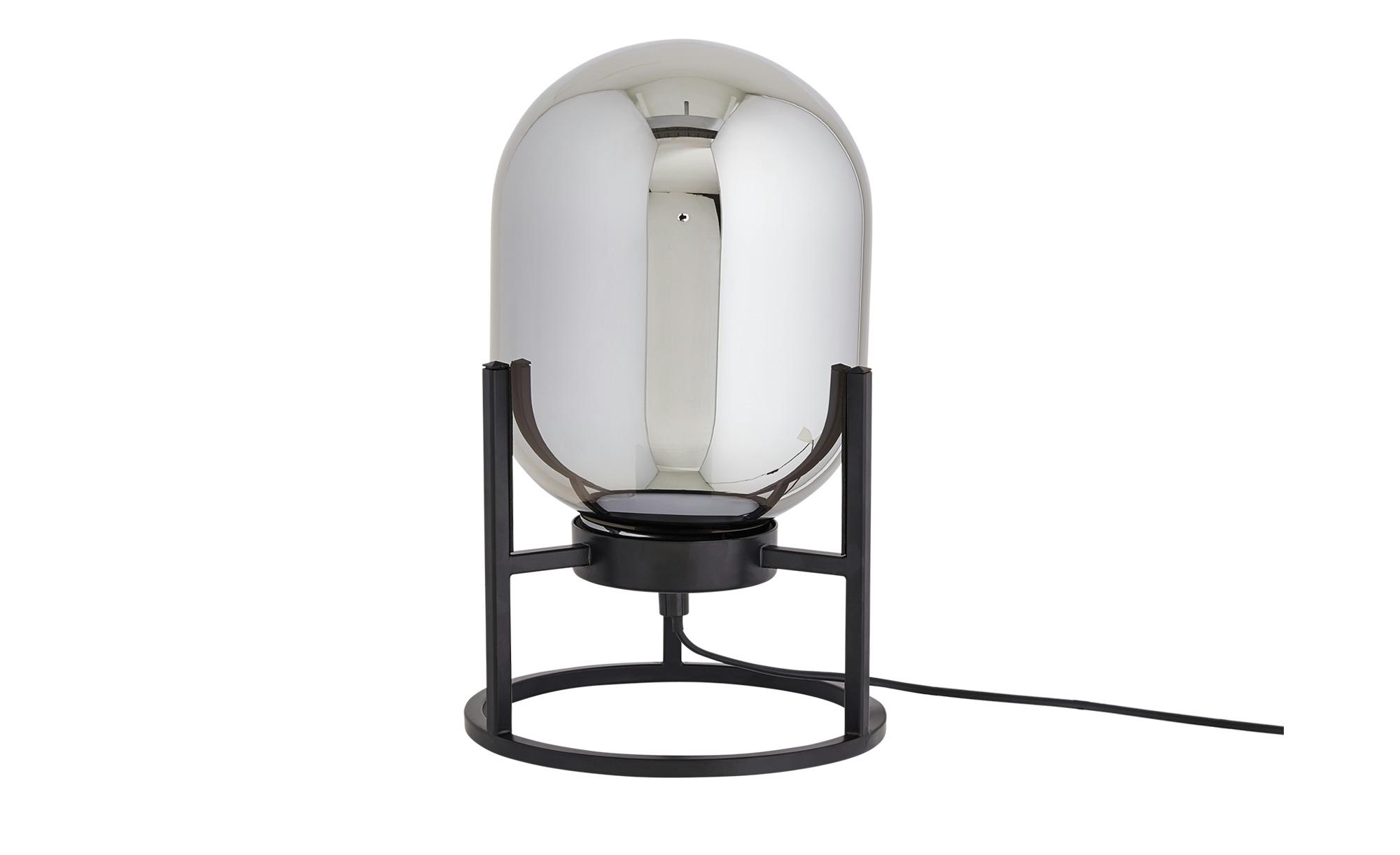 Fischer-Honsel Tischleuchte, 1-flammig ¦ schwarz ¦ Maße (cm): H: 34 Ø: 21 Lampen & Leuchten > Innenleuchten > Tischlampen - Höffner