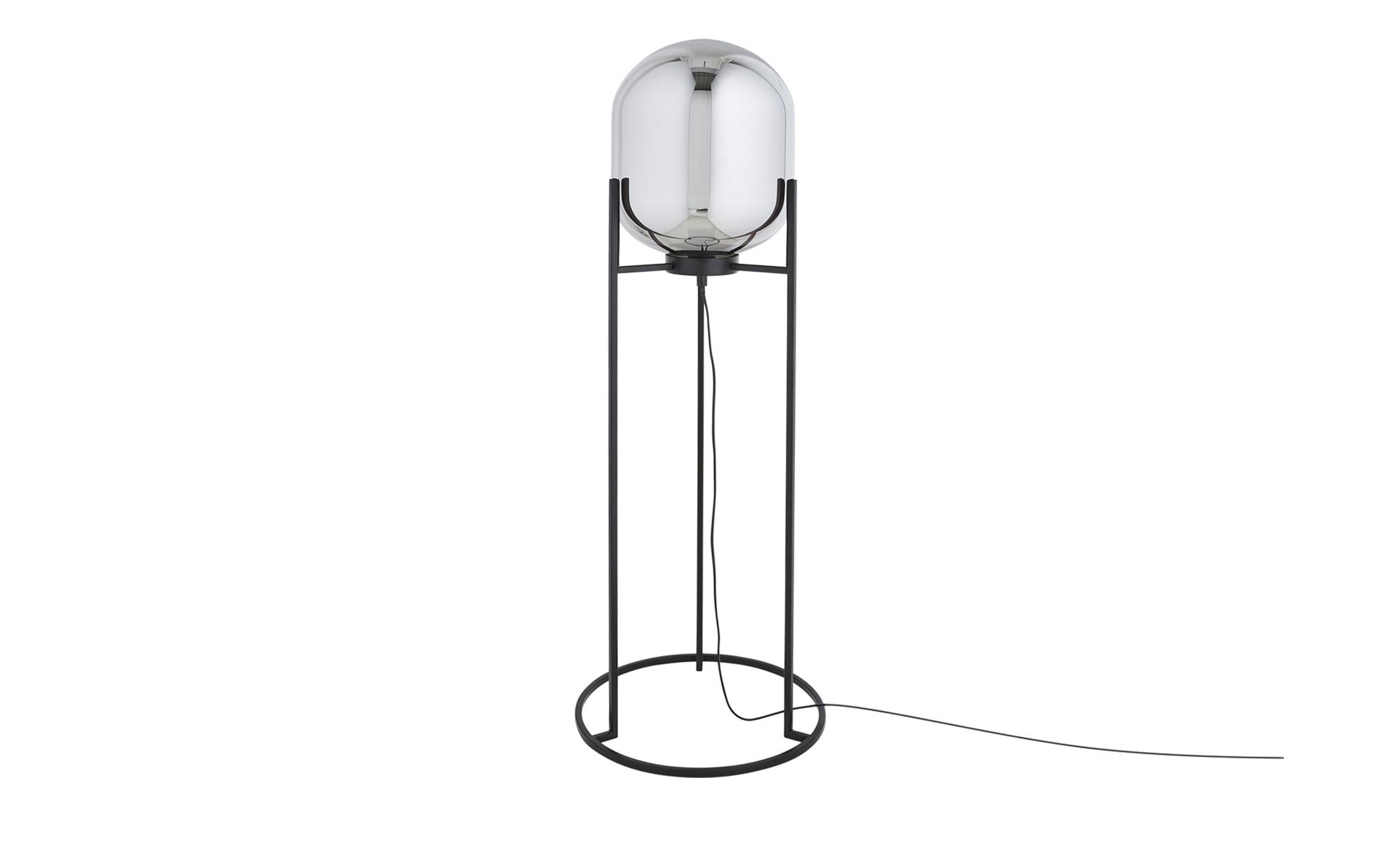 Fischer-Honsel Stehleuchte, 1-flammig ¦ schwarz ¦ Maße (cm): H: 97 Ø: 35.5 Lampen & Leuchten > Innenleuchten > Stehlampen - Höffner