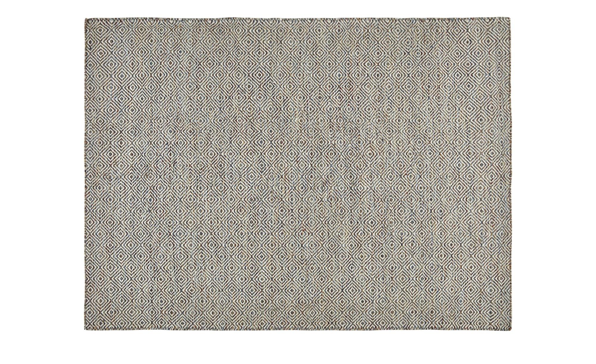 Handwebteppich  Hygge ¦ mehrfarbig ¦ 100% Wolle ¦ Maße (cm): B: 120 Teppiche > Wohnteppiche - Höffner