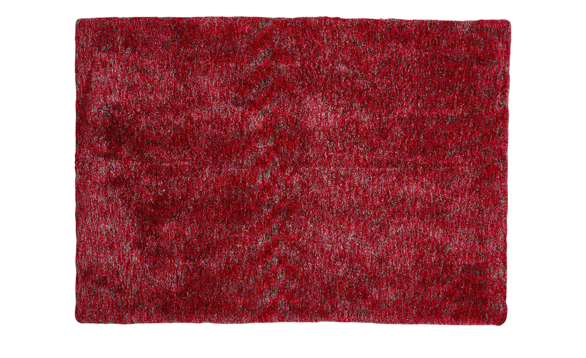 Tuft-Teppich  Wellness ¦ rosa/pink ¦ 100 % Polyester, Synthethische Fasern ¦ Maße (cm): B: 170 Teppiche > Wohnteppiche > Hochflorteppiche - Höffner