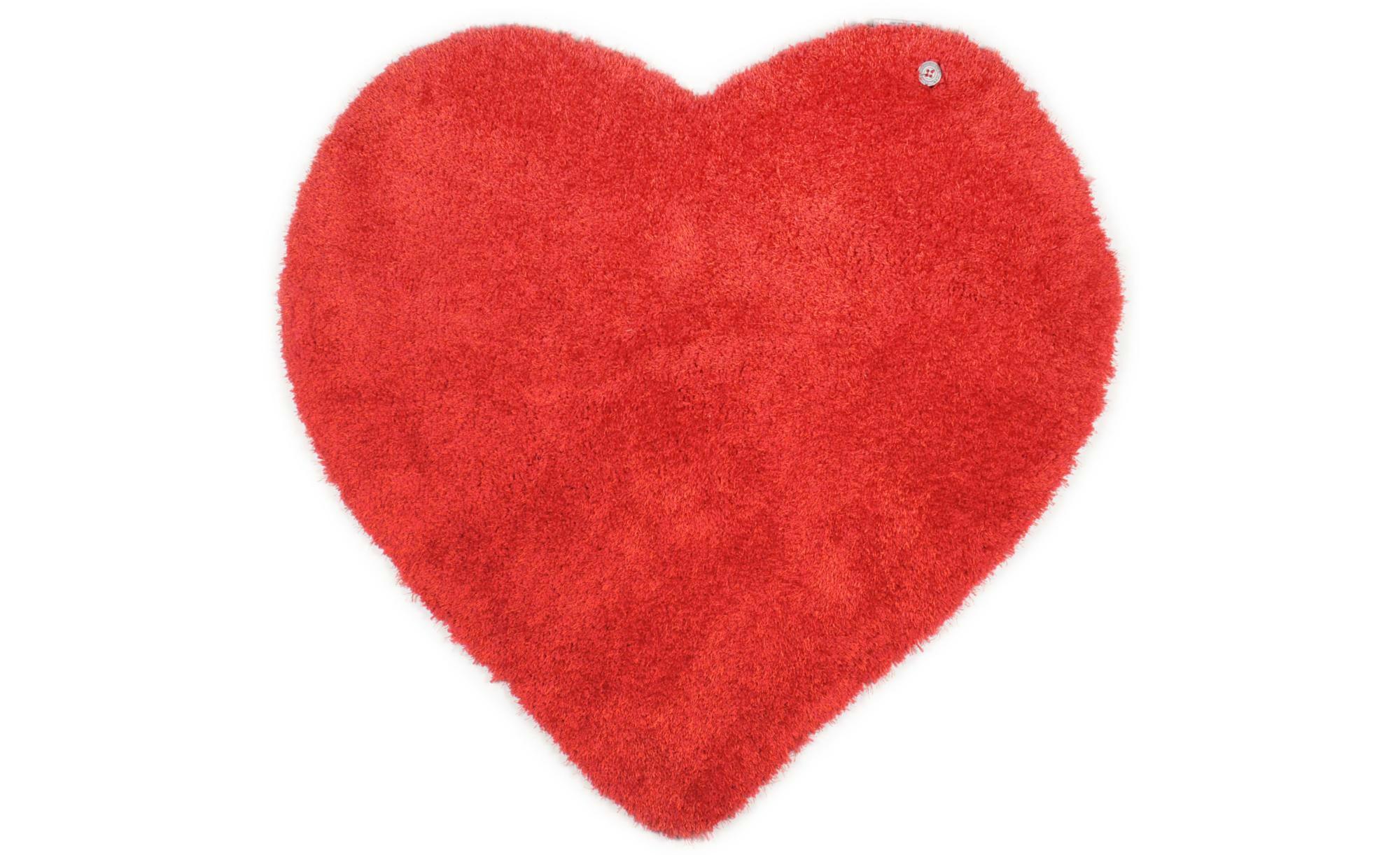 Tom Tailor Handtuft-Teppich  Soft Kids ¦ rot ¦ 100 % Polypropylen ¦ Maße (cm): B: 100 Teppiche > Kinderteppiche - Höffner