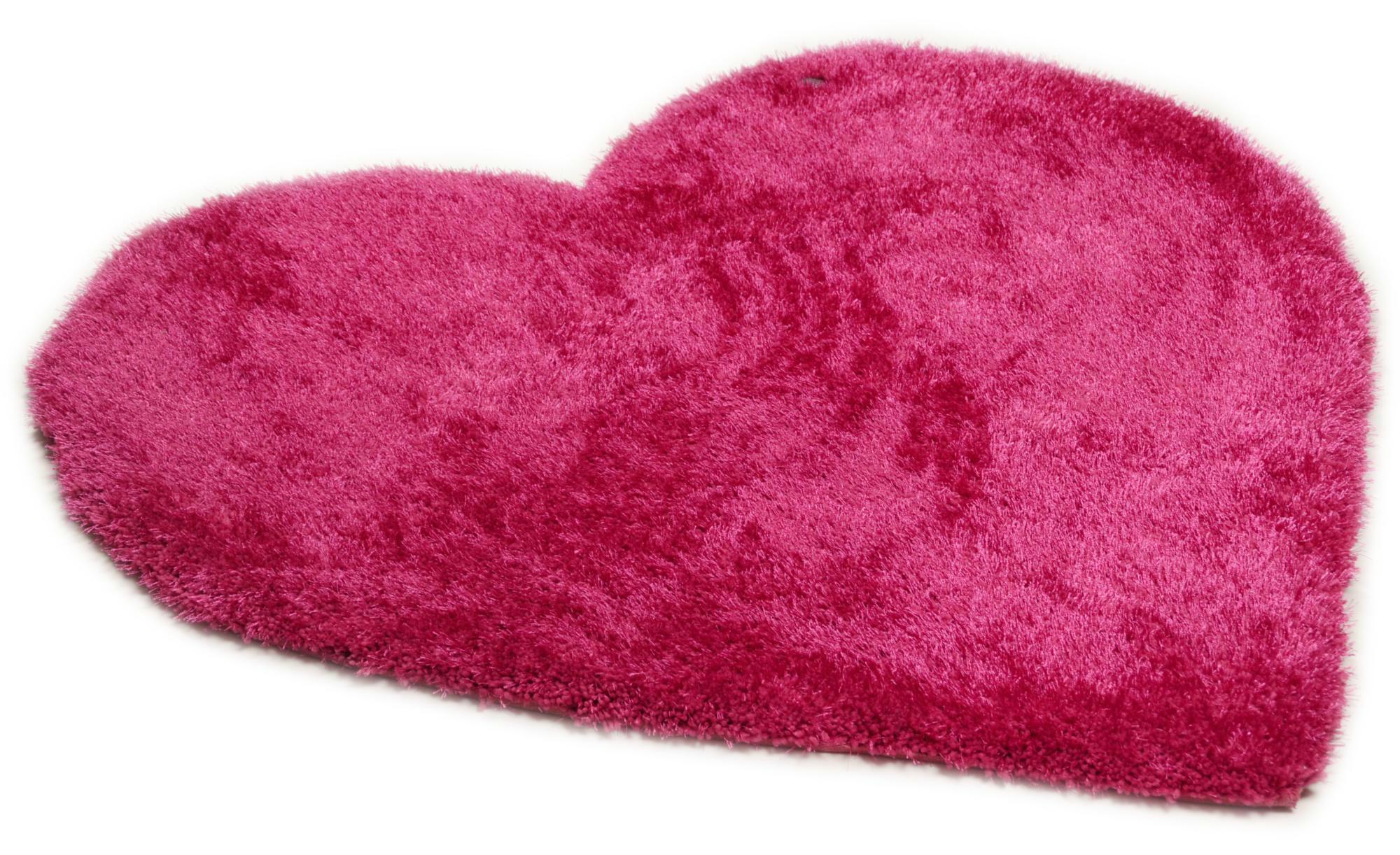 Tom Tailor Handtuft-Teppich  Soft Kids ¦ rosa/pink ¦ 100 % Polypropylen ¦ Maße (cm): B: 100 Teppiche > Kinderteppiche - Höffner