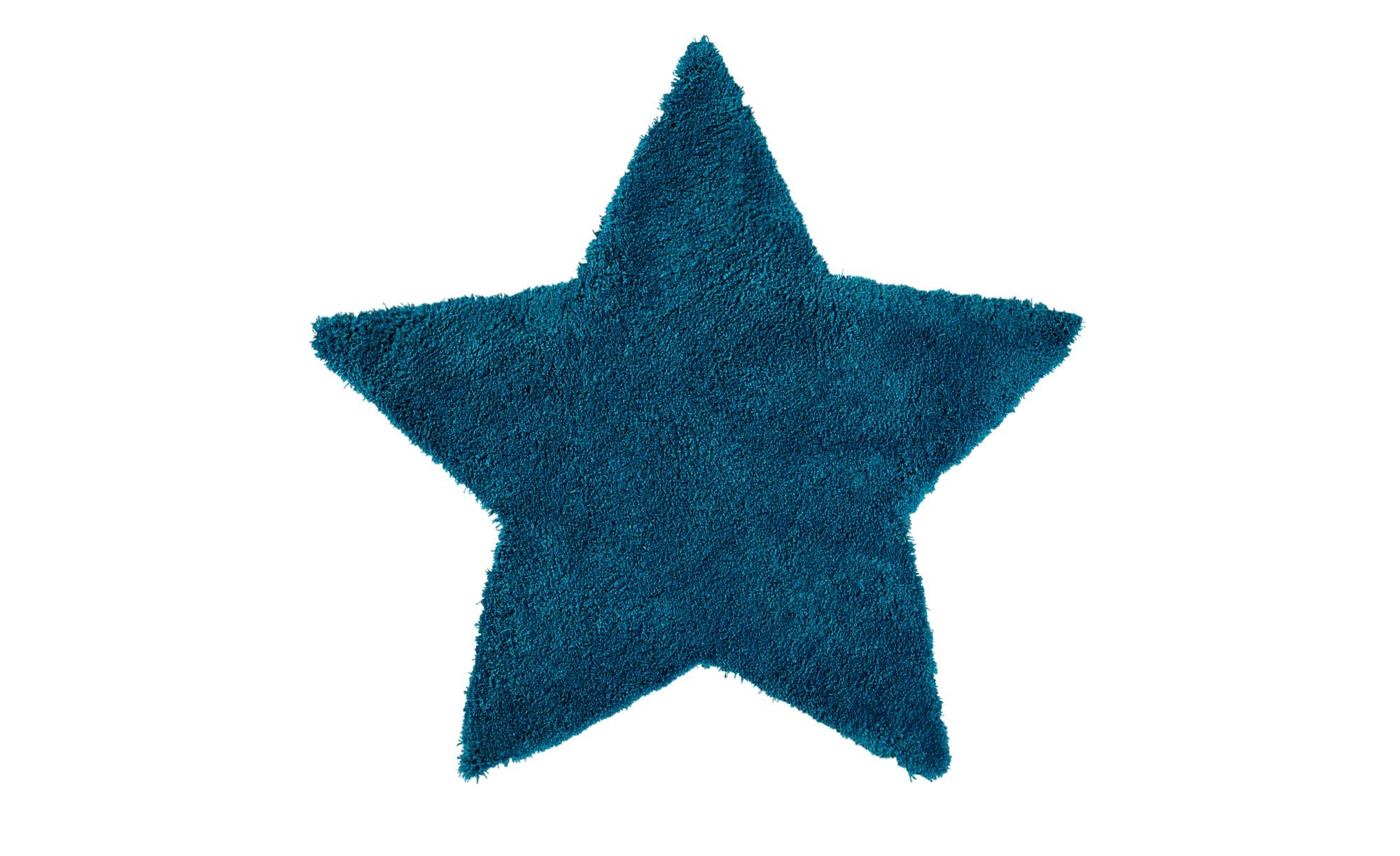 for friends Handtuft-Teppich  Trendy ¦ blau ¦ 100 % Polypropylen ¦ Maße (cm): B: 100 Teppiche > Wohnteppiche - Höffner