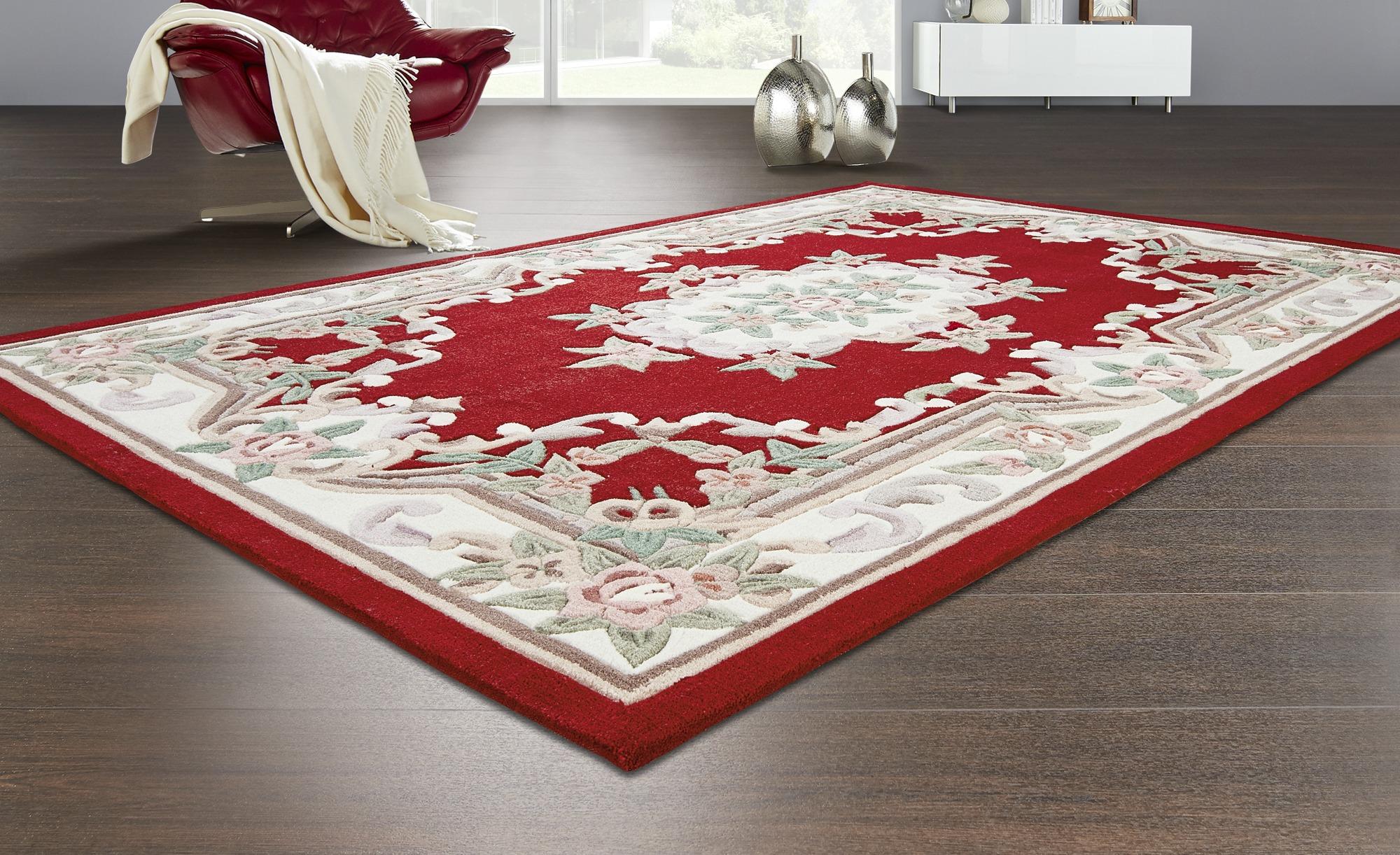 Handtuft-Teppich  Ming ¦ rot ¦ 100 % Polyacryl ¦ Maße (cm): B: 160 Teppiche > Wohnteppiche - Höffner