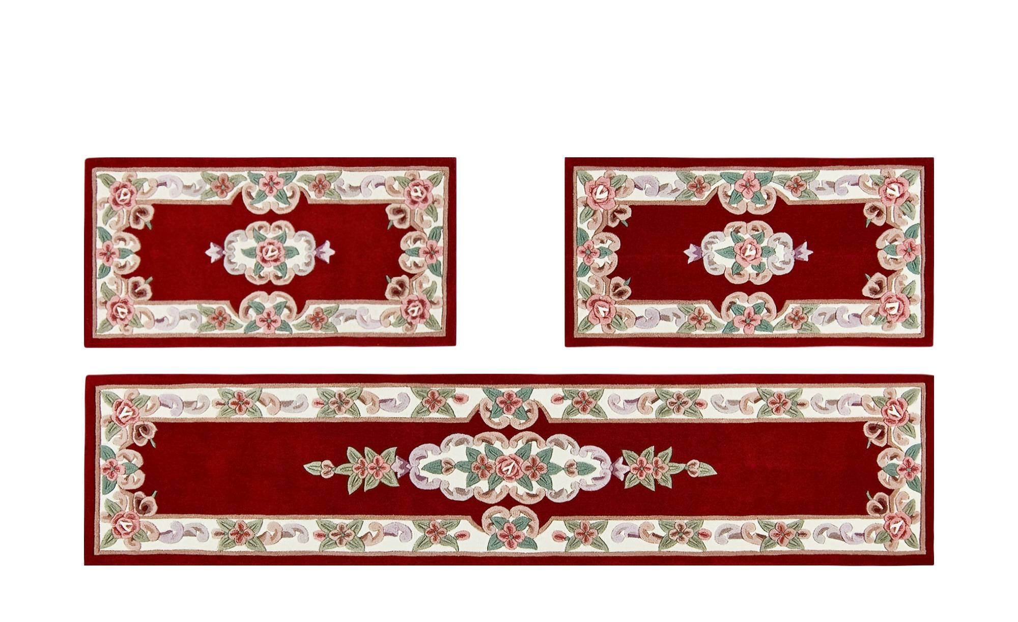 Bettumrandung  Ming ¦ rot ¦ 100 % Polyacryl ¦ Maße (cm): B: 70 T: 320 Teppiche > Wohnteppiche - Höffner