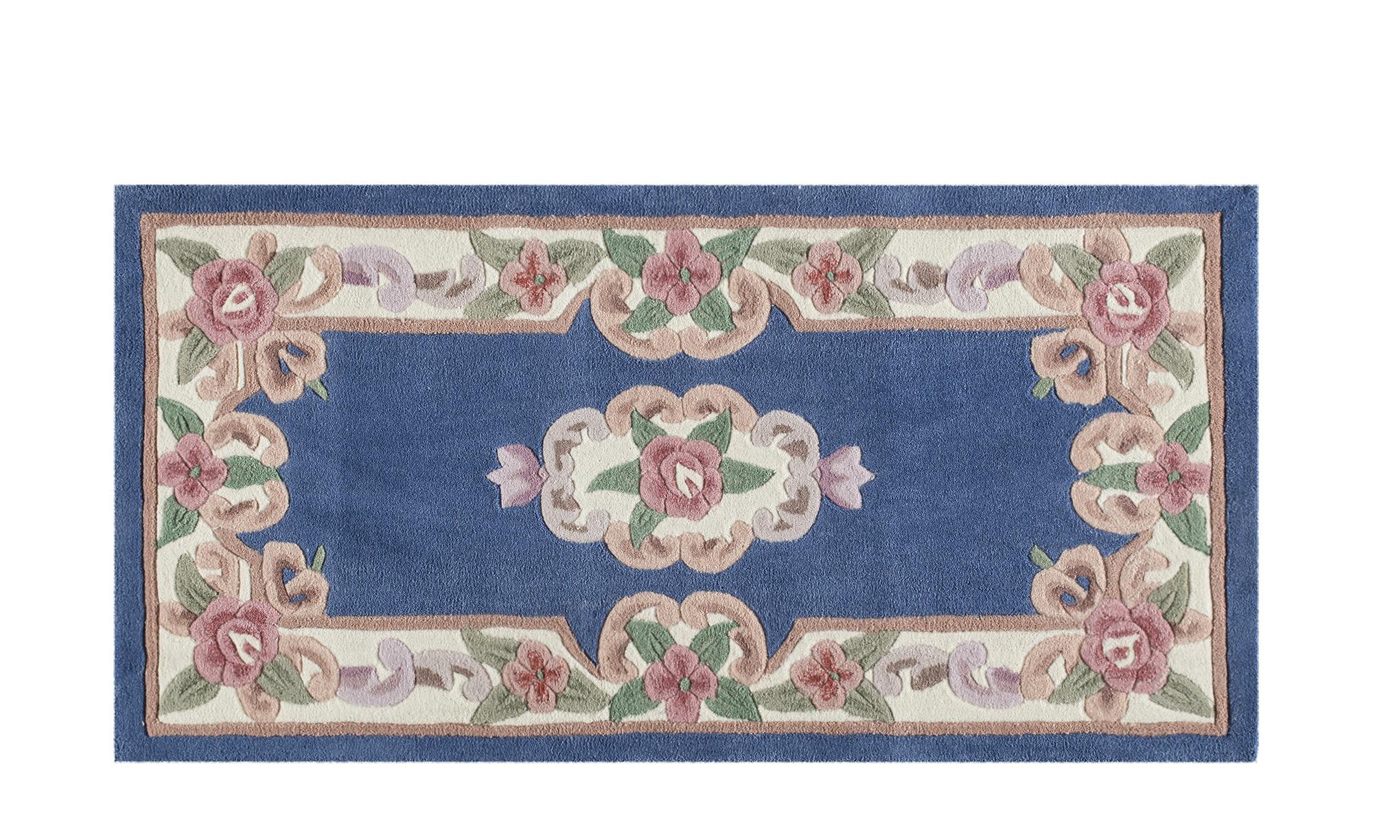 Handtuft-Teppich  Ming ¦ blau ¦ 100 % Polyacryl ¦ Maße (cm): B: 60 Teppiche > Wohnteppiche - Höffner