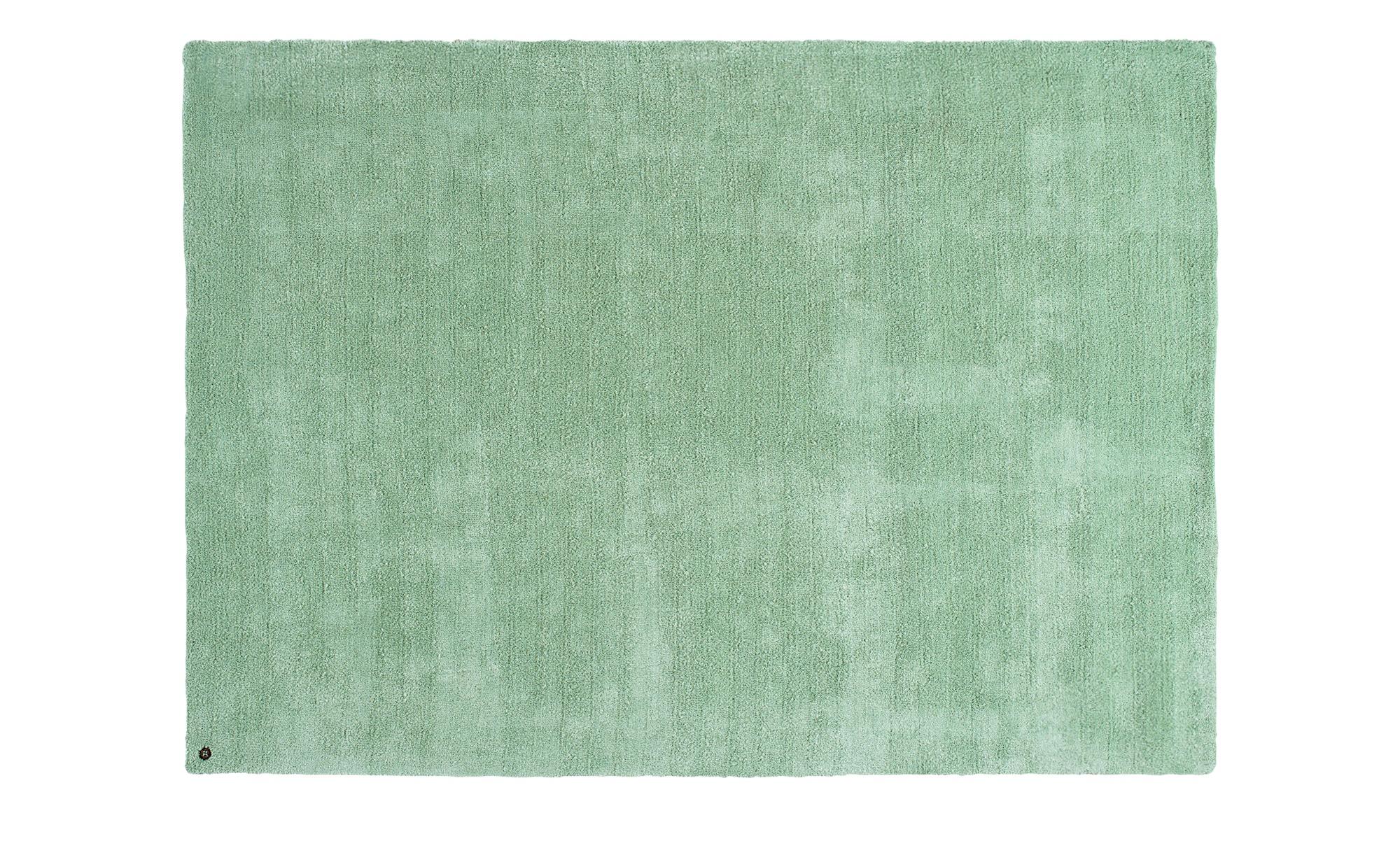 Tom Tailor Handtuft-Teppich  Powder ¦ grün ¦ 100 % Polyester ¦ Maße (cm): B: 65 Teppiche > Wohnteppiche - Höffner