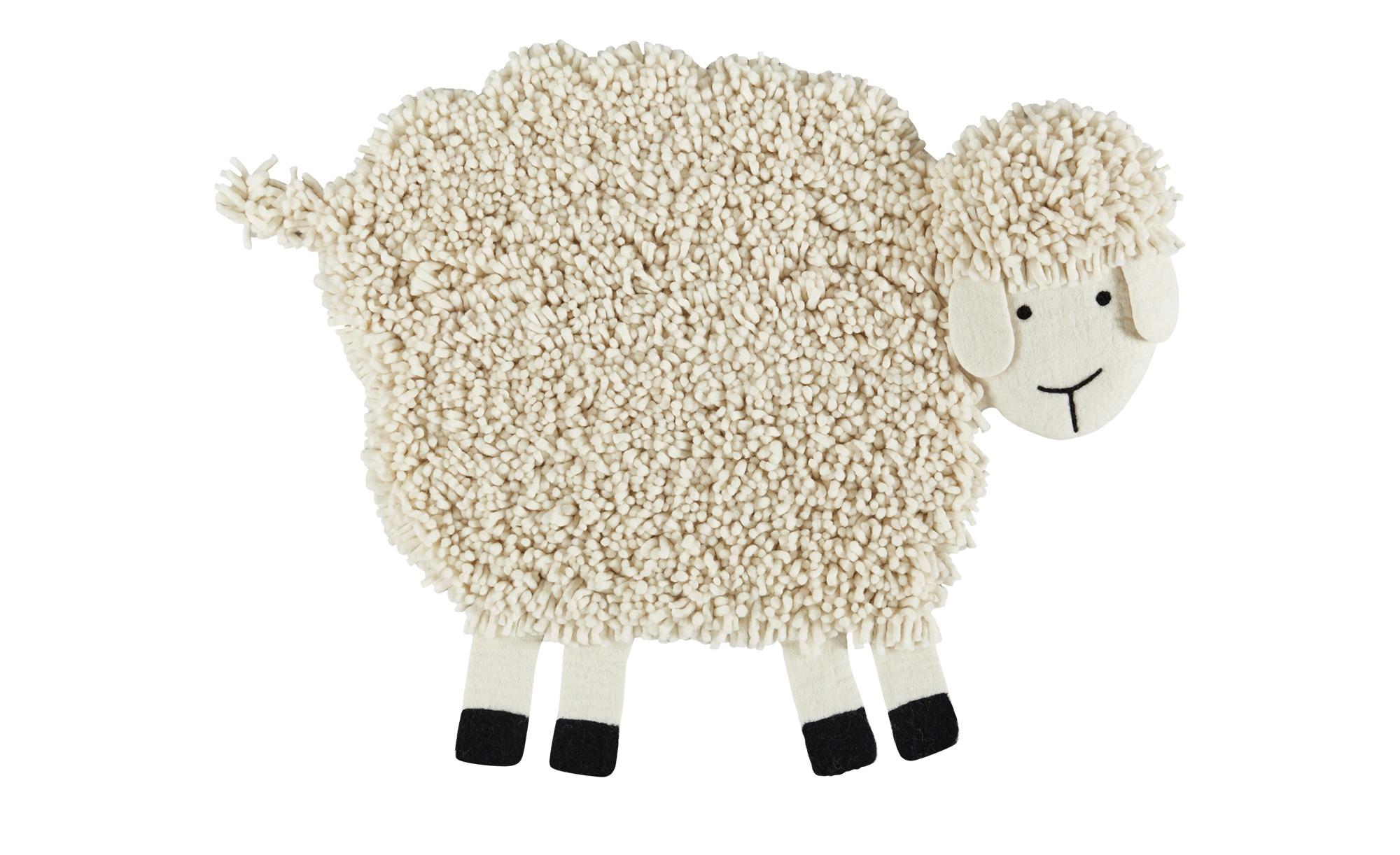 Nepal-Teppich  Emma ¦ creme ¦ 100% nepalesische gewalkte Wolle, Wolle ¦ Maße (cm): B: 85 Teppiche > Felle - Höffner