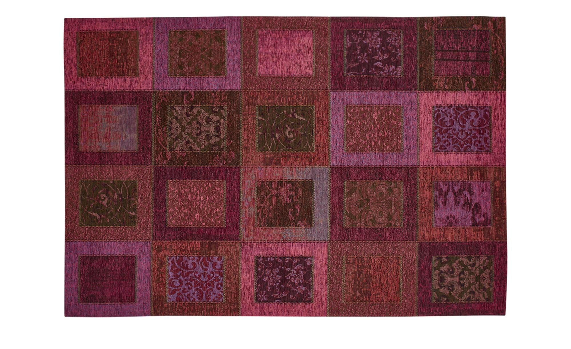 Webteppich  Harmonie ¦ lila/violett ¦ 34% Chenille Acryl, 33% Baumwolle, 33% Polyester ¦ Maße (cm): B: 155 Teppiche > Wohnteppiche - Höffner