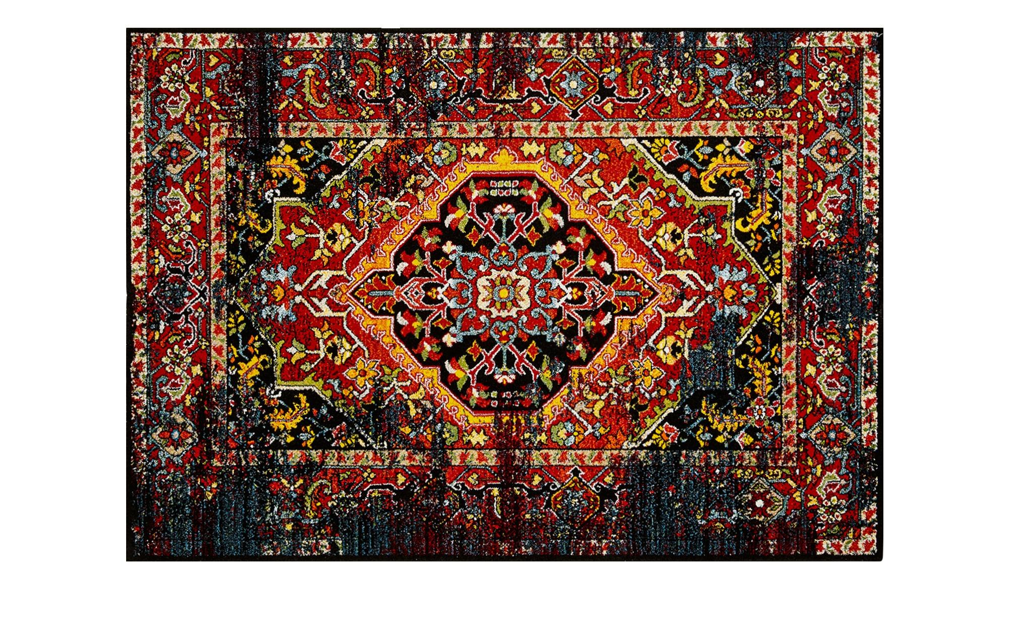 Webteppich  Colorful Marrakesh ¦ mehrfarbig ¦ 100 % Polypropylen ¦ Maße (cm): B: 160 Teppiche > Wohnteppiche - Höffner