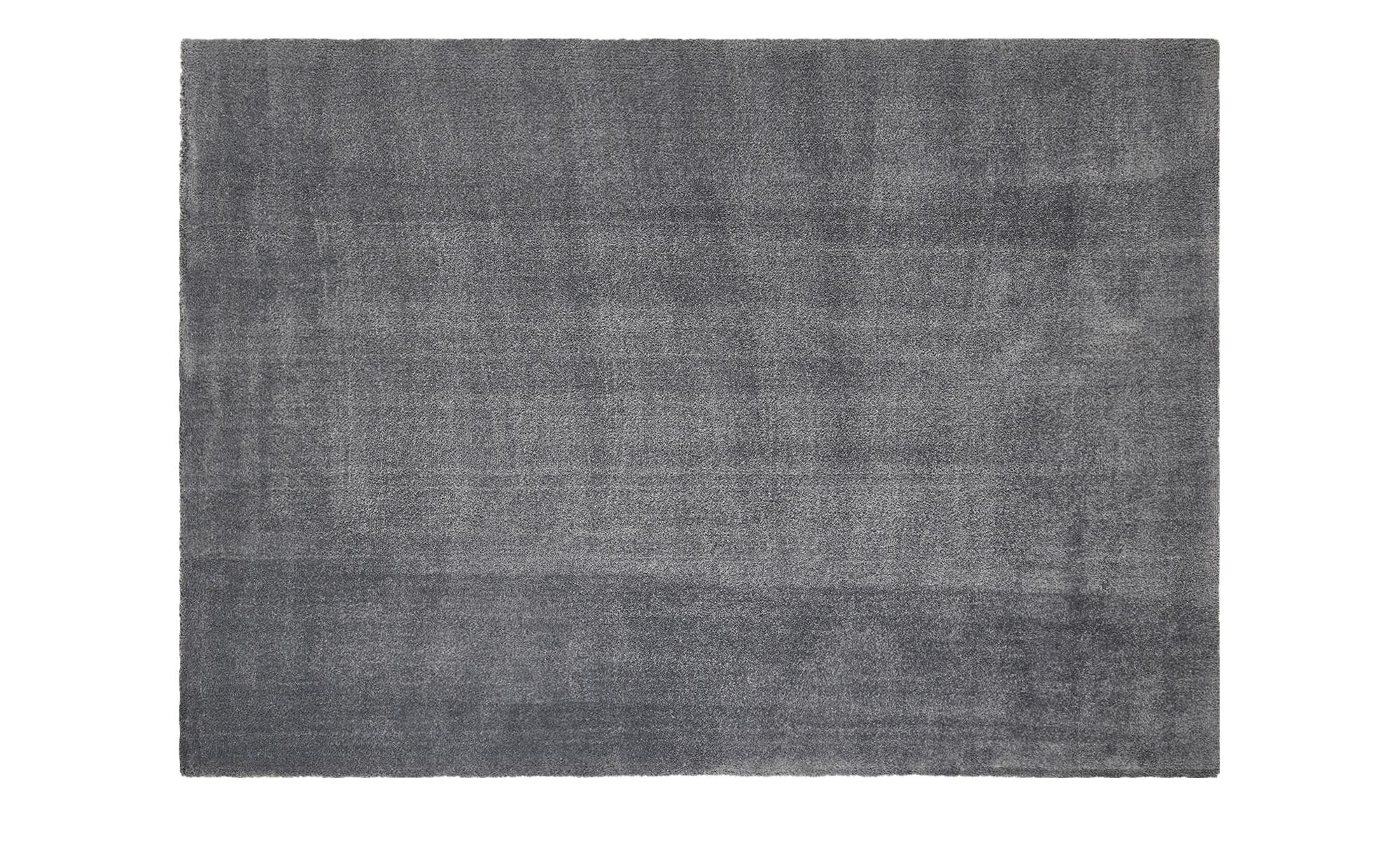 Webteppich  Touch ¦ grau ¦ 100% Polyester ¦ Maße (cm): B: 120 Teppiche > Auslegware - Höffner