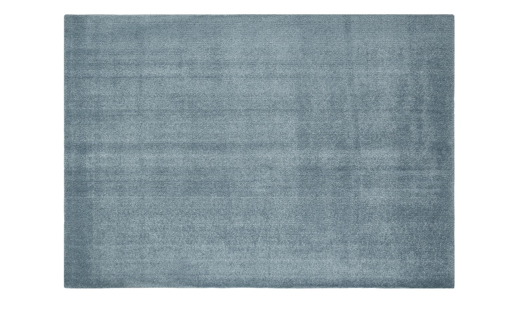 Hochflorteppich  Touch ¦ türkis/petrol ¦ 100% Polyester, Synthethische Fasern ¦ Maße (cm): B: 60 Teppiche > Wohnteppiche > Hochflorteppiche - Höffner