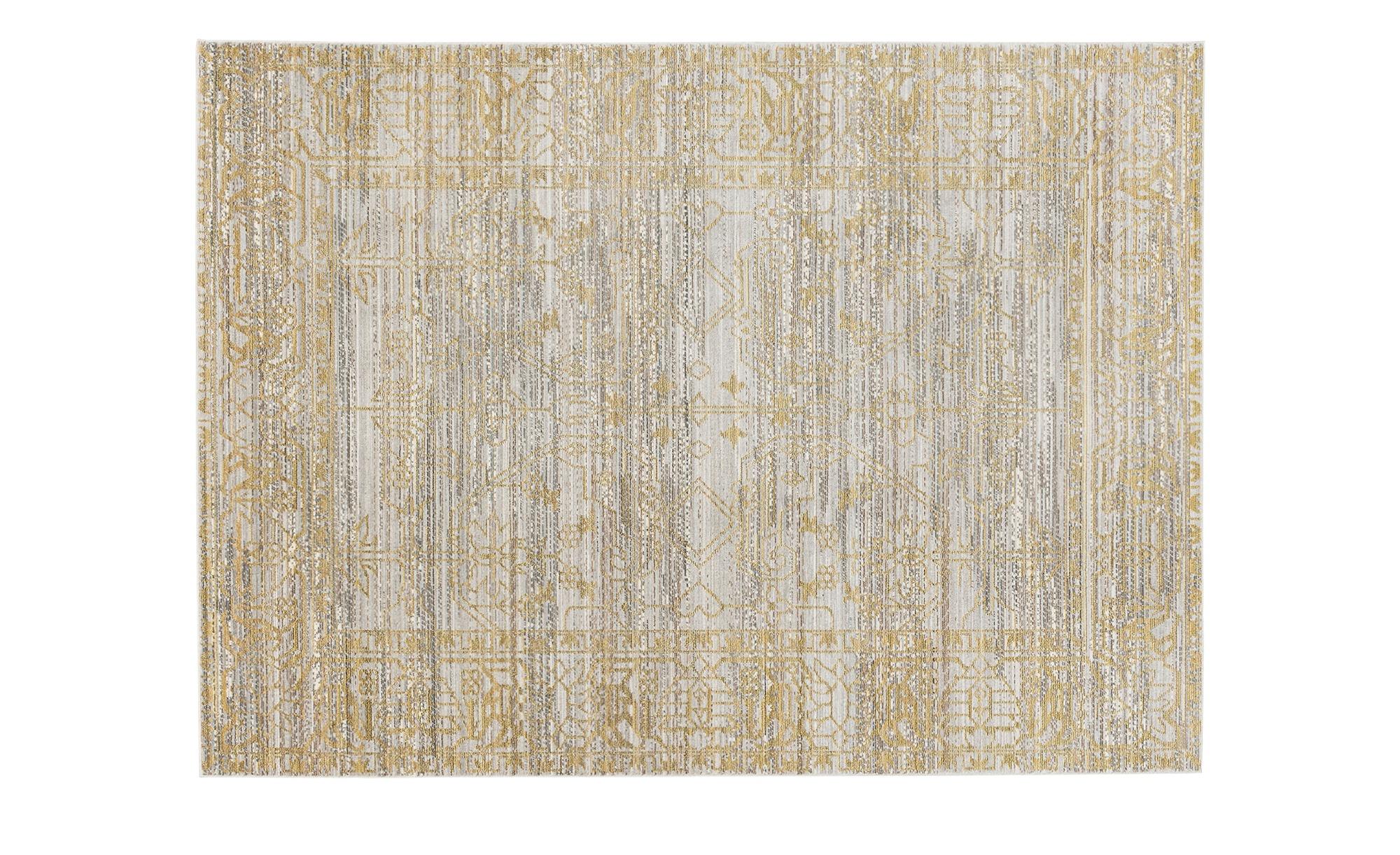 SCHÖNER WOHNEN Webteppich  Shining ¦ gold ¦ 100% Polyester ¦ Maße (cm): B: 140 Teppiche > Auslegware - Höffner