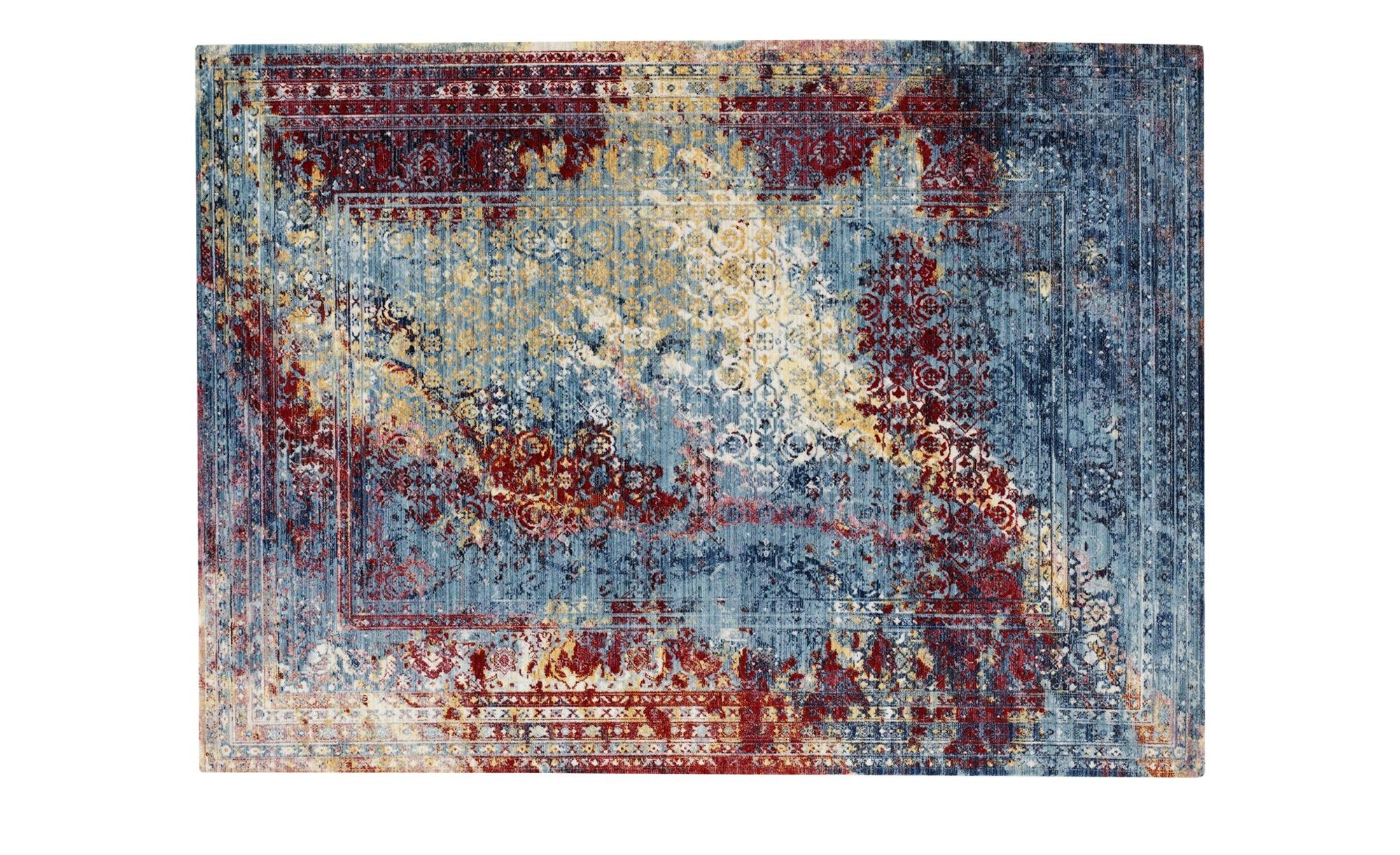 Webteppich  Jane ¦ mehrfarbig ¦ 100% Polyester ¦ Maße (cm): B: 70 Teppiche > Wohnteppiche - Höffner