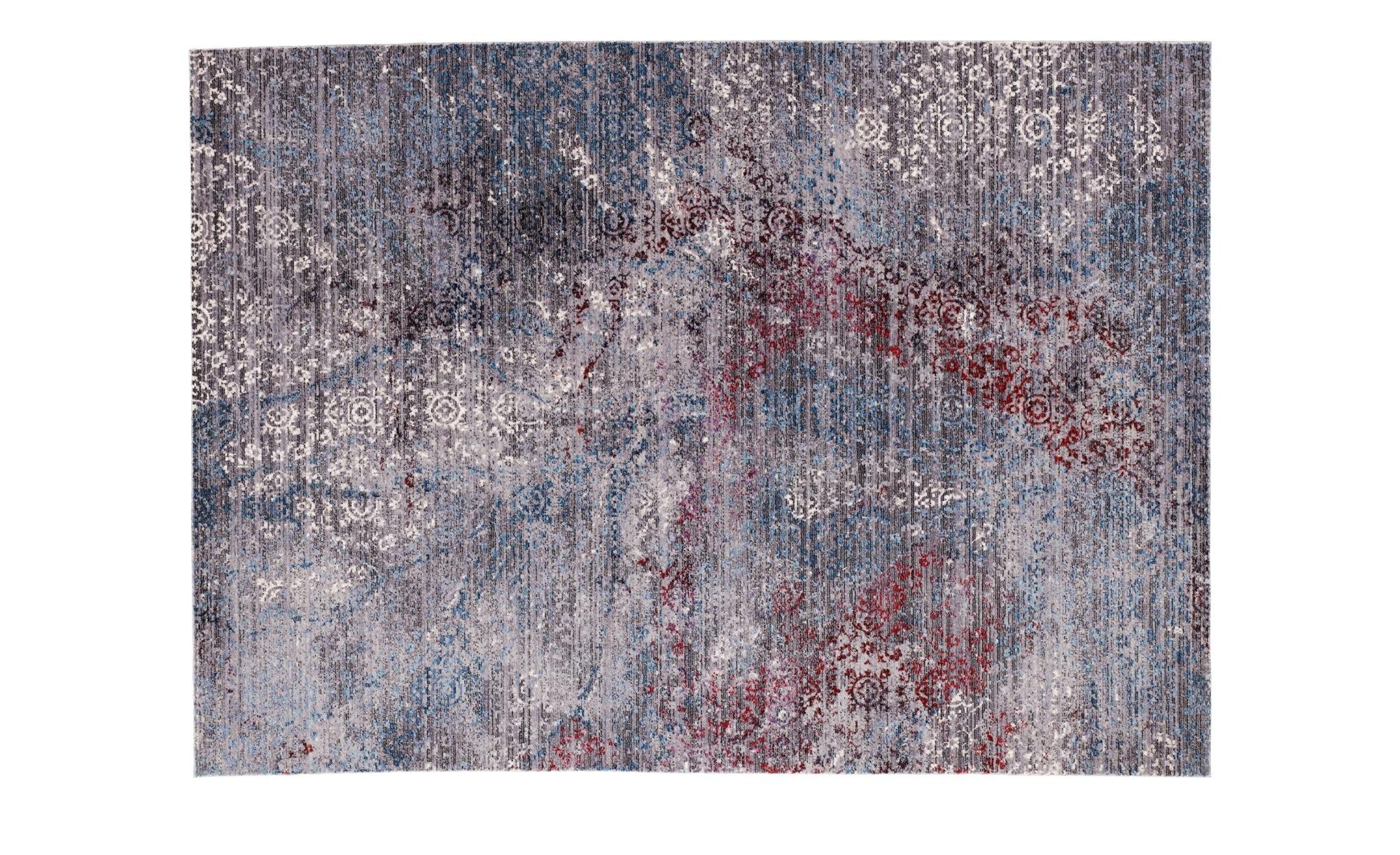 Kurzflorteppich  Leja ¦ grau ¦ 100% Polyester, Synthethische Fasern ¦ Maße (cm): B: 90 Teppiche > Wohnteppiche > Orientteppiche - Höffner