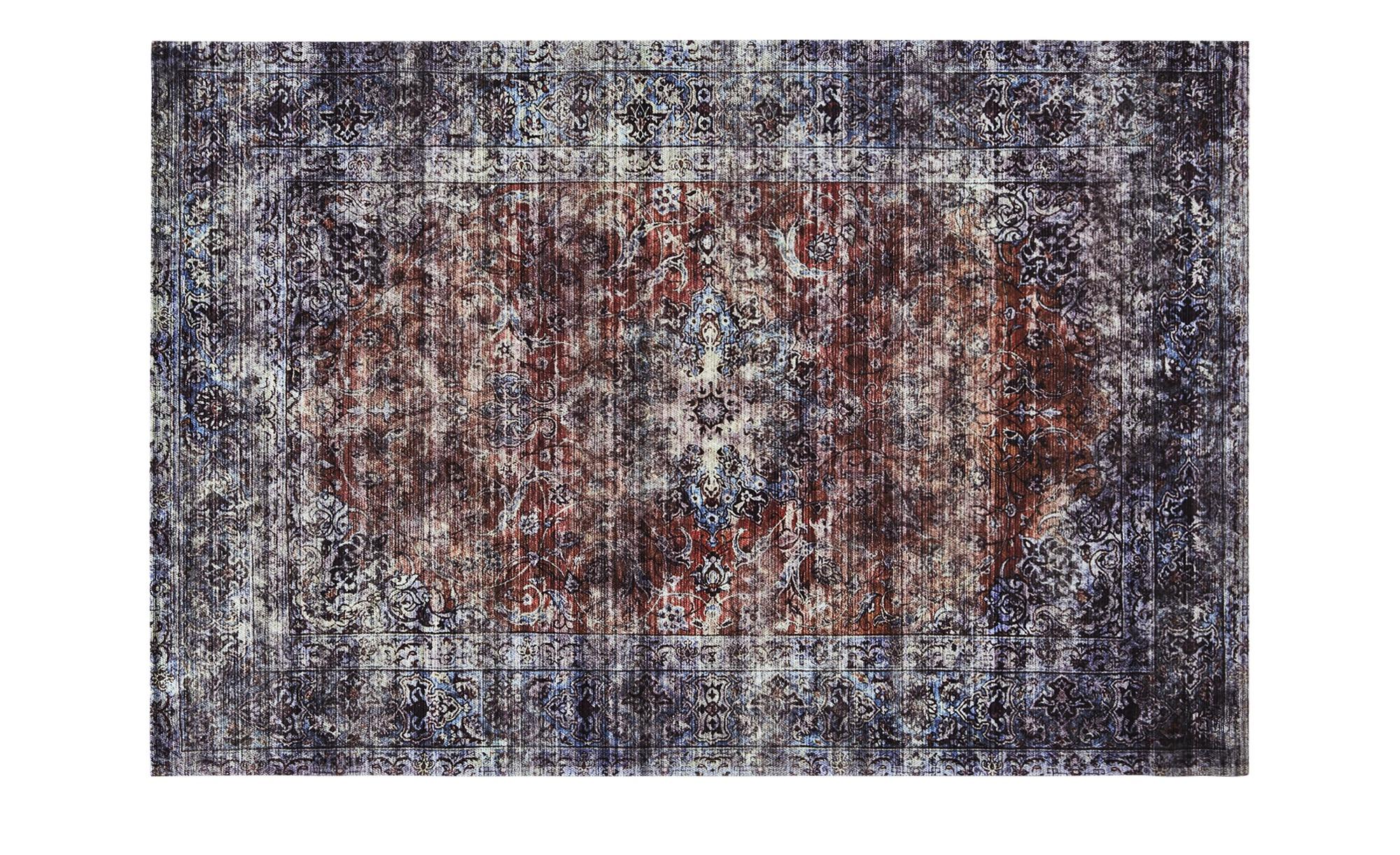 Webteppich  Classic Line 1200 ¦ mehrfarbig ¦ 34% Baumwolle, 33% Polyester, 33% Chenille Acryl ¦ Maße (cm): B: 80 Teppiche > Wohnteppiche - Höffner