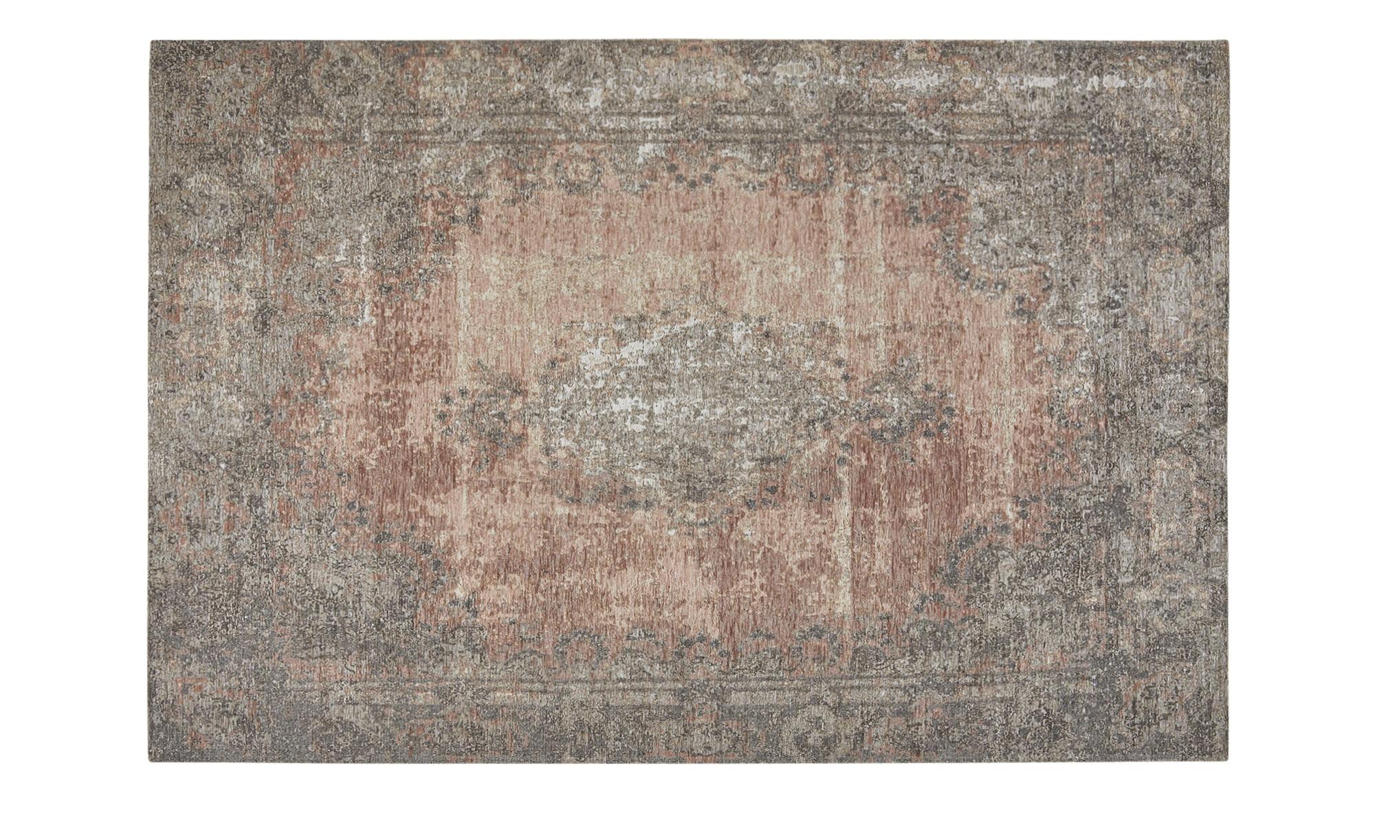 Webteppich  Romance 1200 ¦ rosa/pink ¦ 34% Baumwolle, 33% Polyester, 33% Chenille Acryl ¦ Maße (cm): B: 80 Teppiche > Wohnteppiche - Höffner