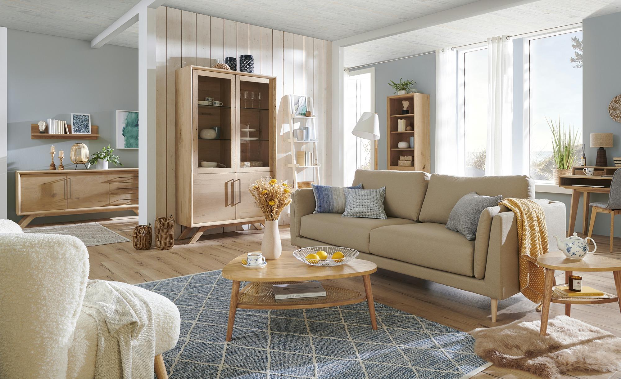 Handwebteppich  Pantin ¦ 100 % Baumwolle, Baumwolle ¦ Maße (cm): B: 170 Teppiche > Wohnteppiche - Höffner