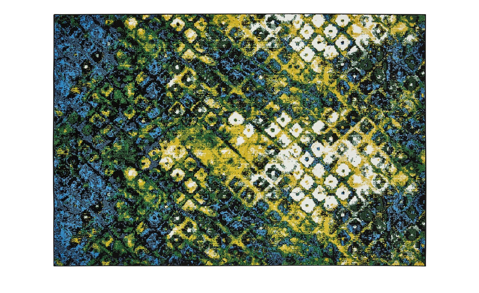 Webteppich  MoveOne ¦ grün ¦ 100% Polypropylen ¦ Maße (cm): B: 60 Teppiche > Wohnteppiche - Höffner
