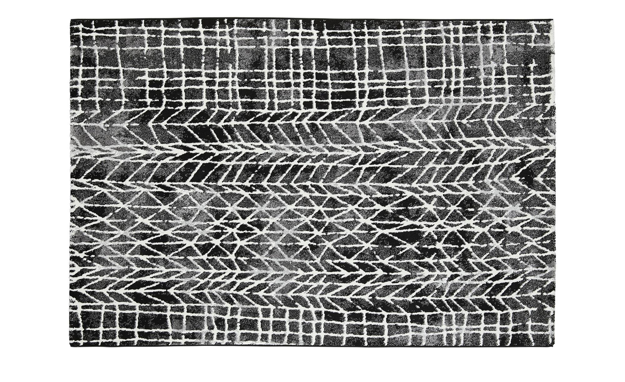 Webteppich  MoveOne ¦ schwarz ¦ 100% Polypropylen ¦ Maße (cm): B: 160 Teppiche > Wohnteppiche - Höffner