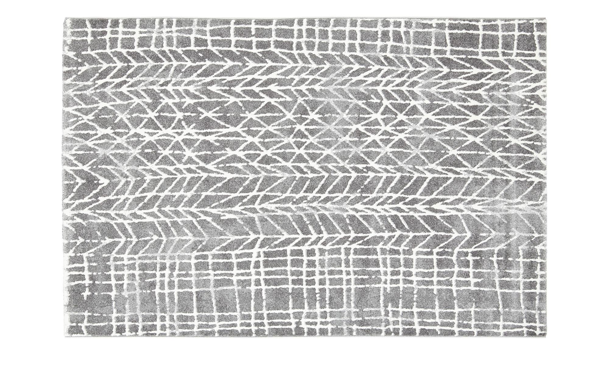 Webteppich  MoveOne ¦ grau ¦ 100% Polypropylen, Synthethische Fasern ¦ Maße (cm): B: 80 Teppiche > Wohnteppiche - Höffner