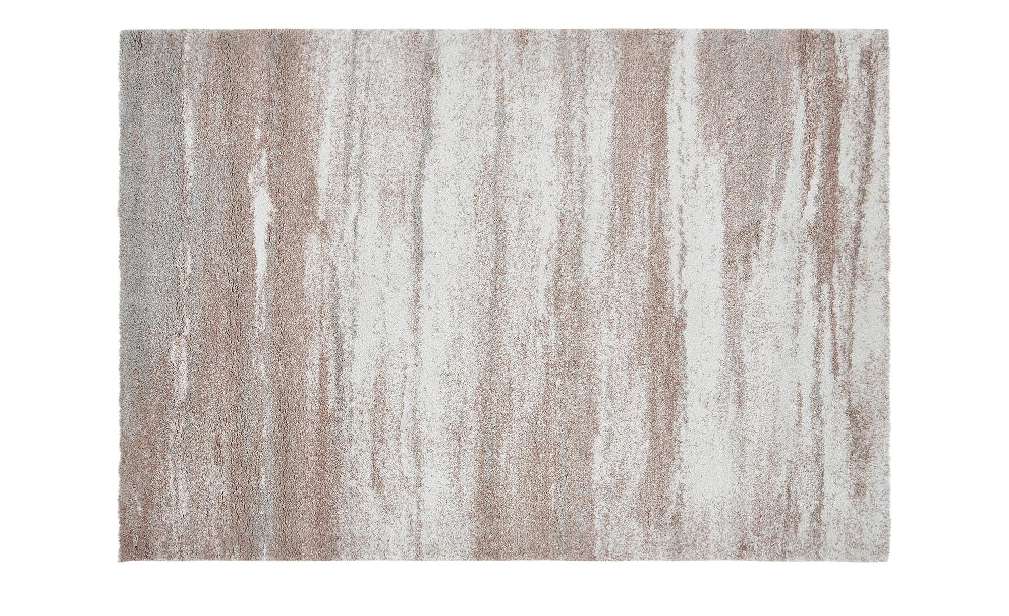Hochflorteppich  Softness ¦ rosa/pink ¦ 100% Polypropylen, Synthethische Fasern ¦ Maße (cm): B: 80 Teppiche > Wohnteppiche > Hochflorteppiche - Höffner