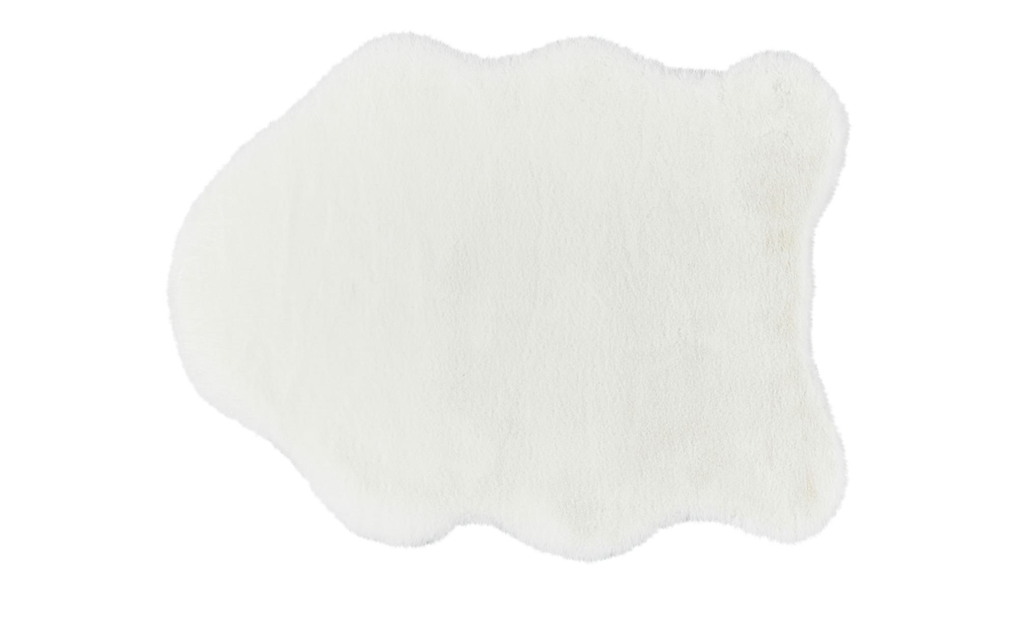 SCHÖNER WOHNEN Webteppich  Tender ¦ weiß ¦ 100% Polyester, Synthethische Fasern ¦ Maße (cm): B: 60 Teppiche > Wohnteppiche - Höffner