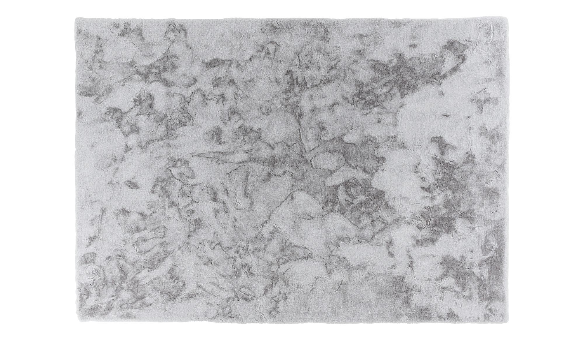SCHÖNER WOHNEN Webteppich  Tender ¦ silber ¦ 100% Polyester, Synthethische Fasern ¦ Maße (cm): B: 130 Teppiche > Wohnteppiche - Höffner