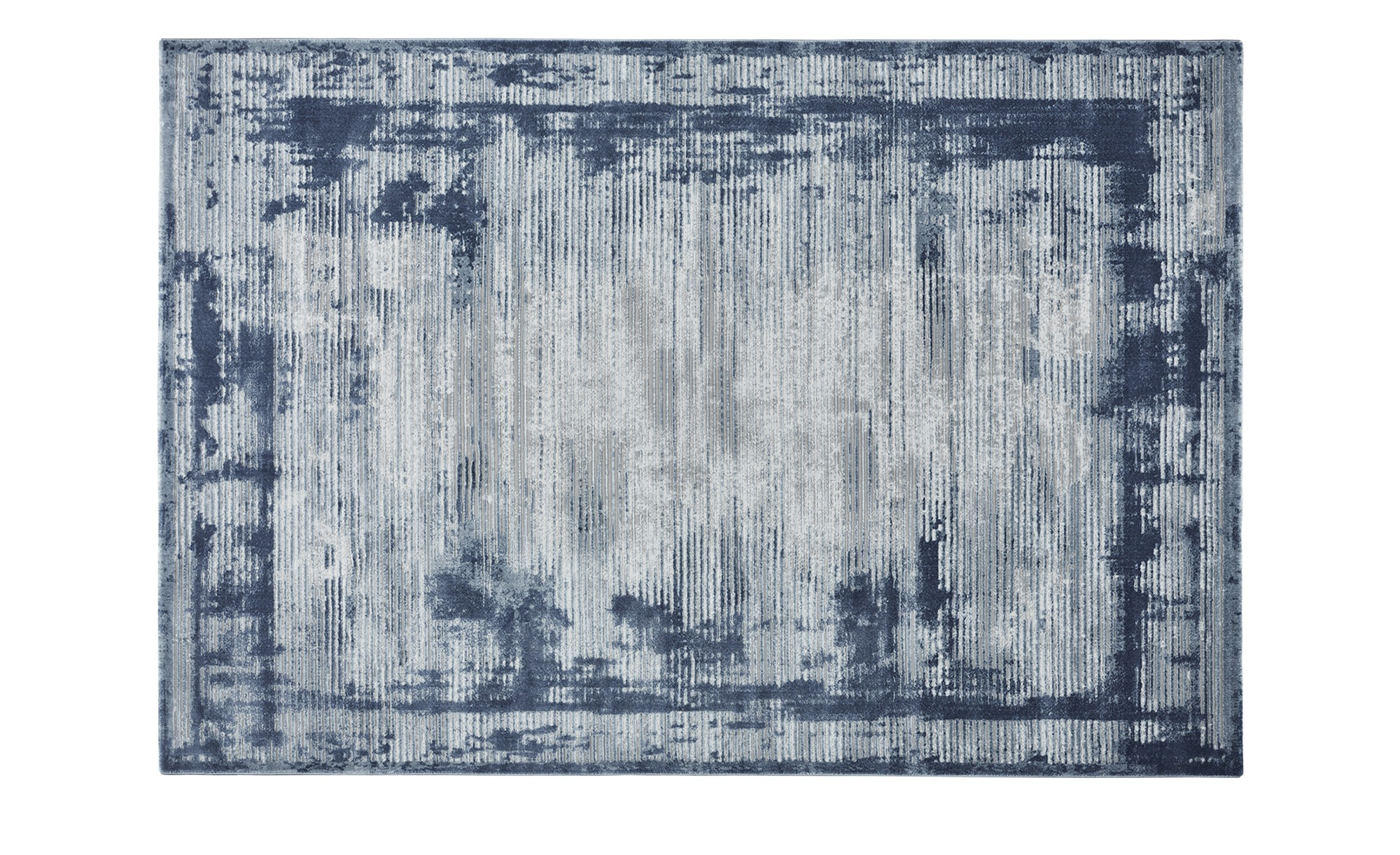 SCHÖNER WOHNEN Webteppich  Brilliance ¦ blau ¦ Synthethische Fasern ¦ Maße (cm): B: 133 Teppiche > Wohnteppiche - Höffner